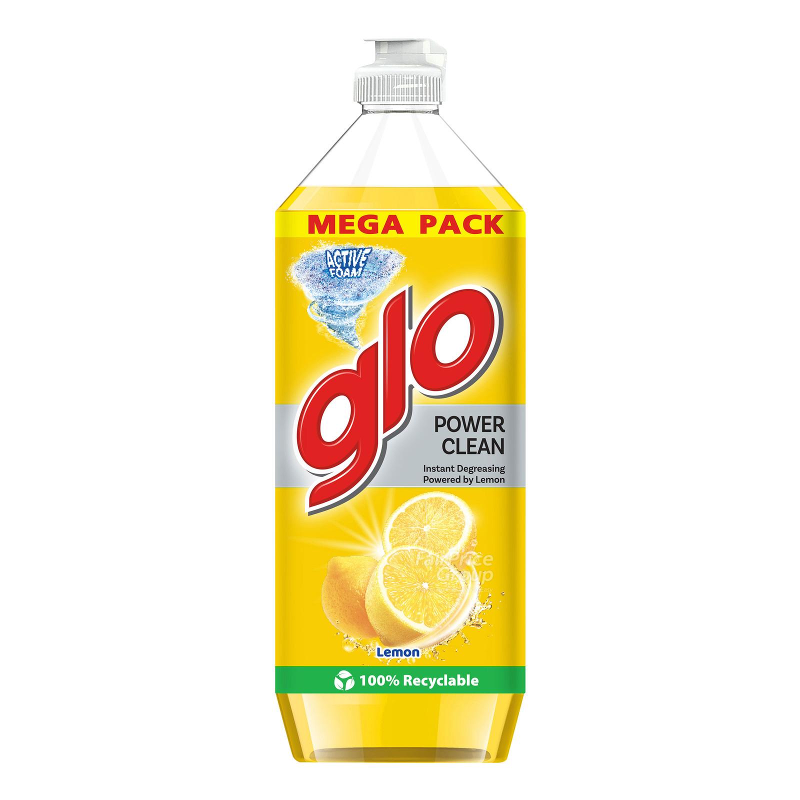 GLO Dishwashing Liquid Lemon 900ml