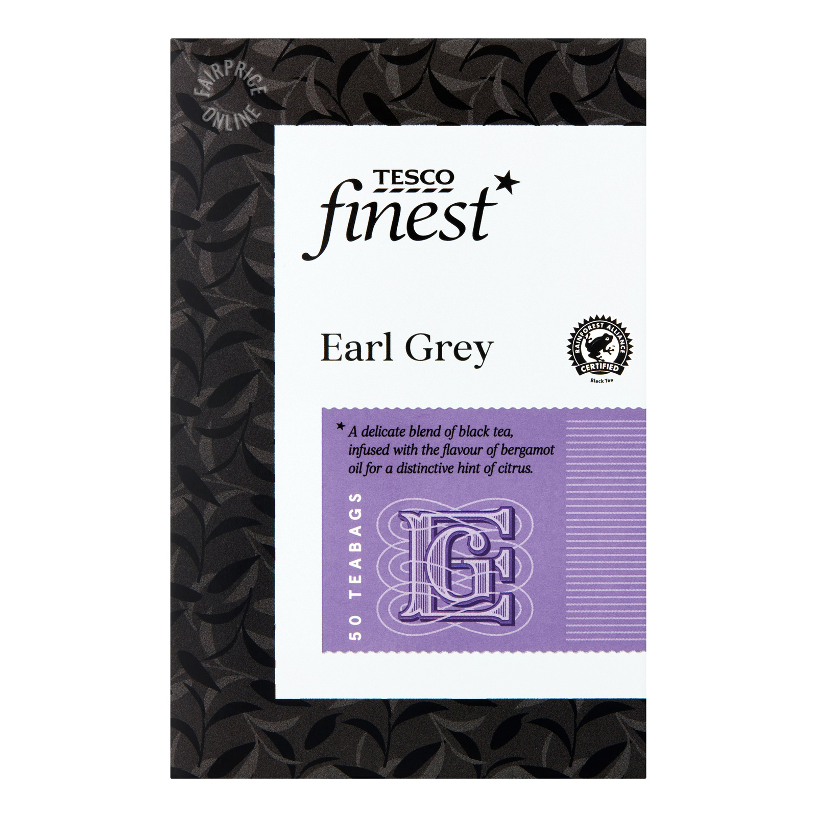 Tesco Finest Tea Bags - Earl Grey