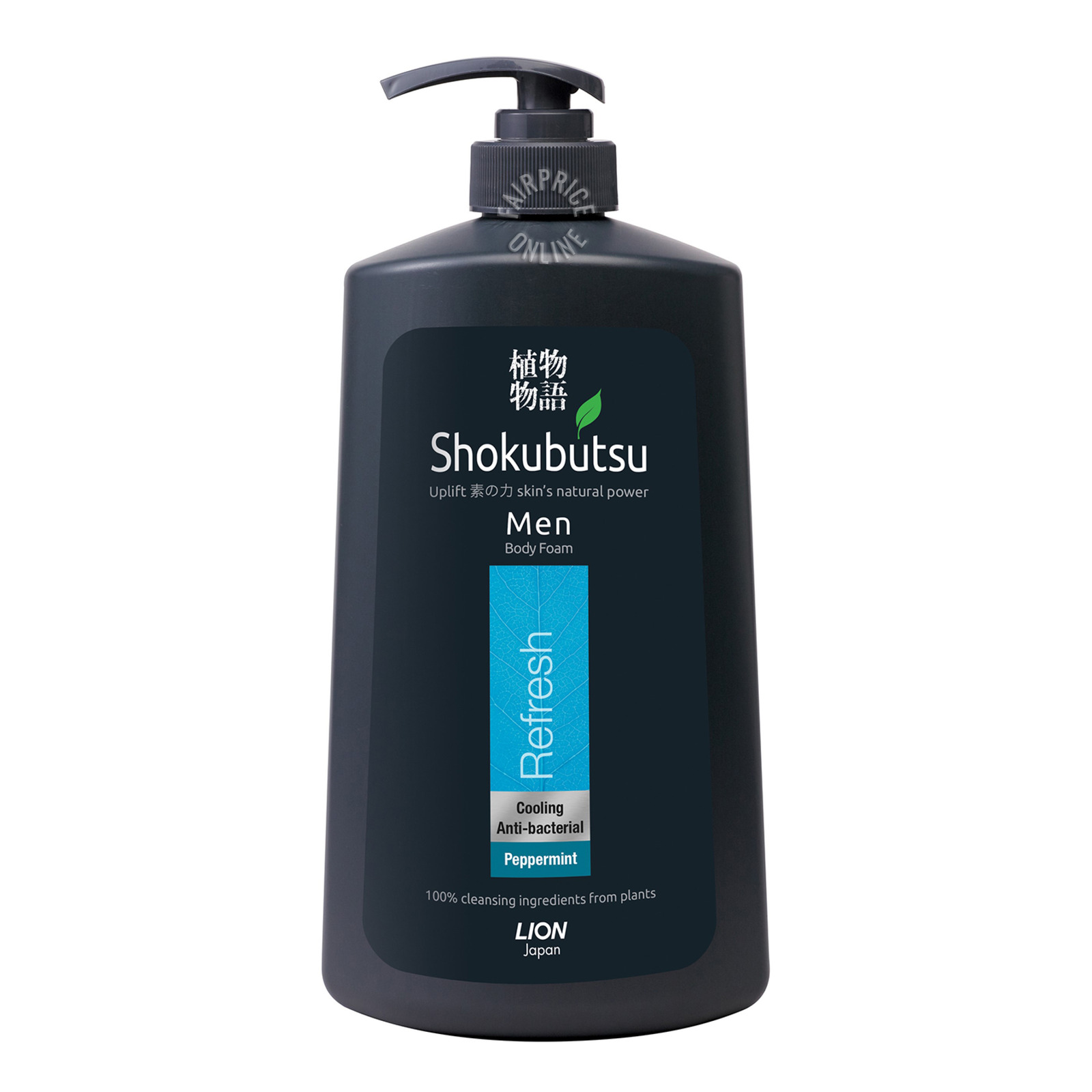 Shokubutsu Men Body Foam - Refresh