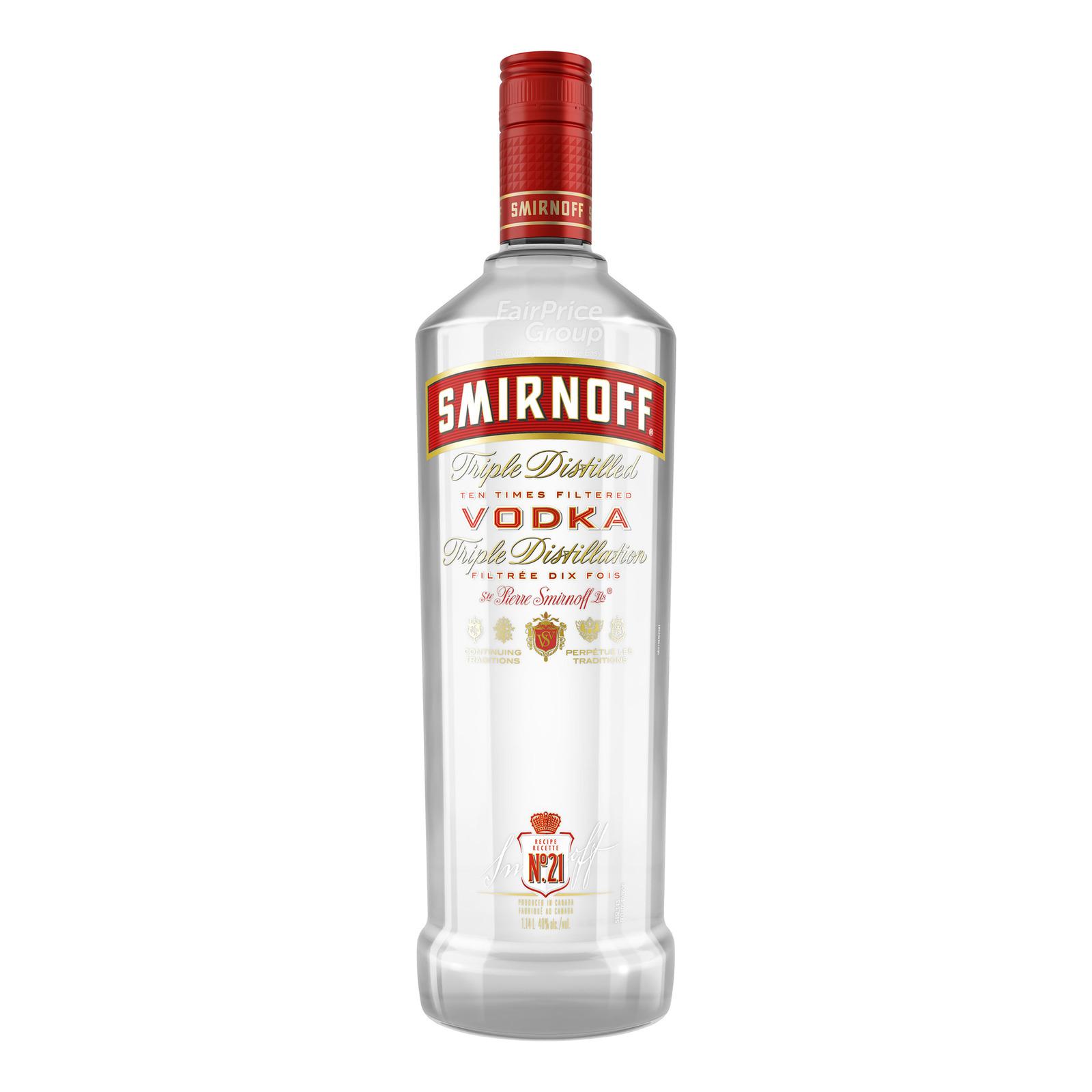 Smirnoff Triple Distilled Red Vodka