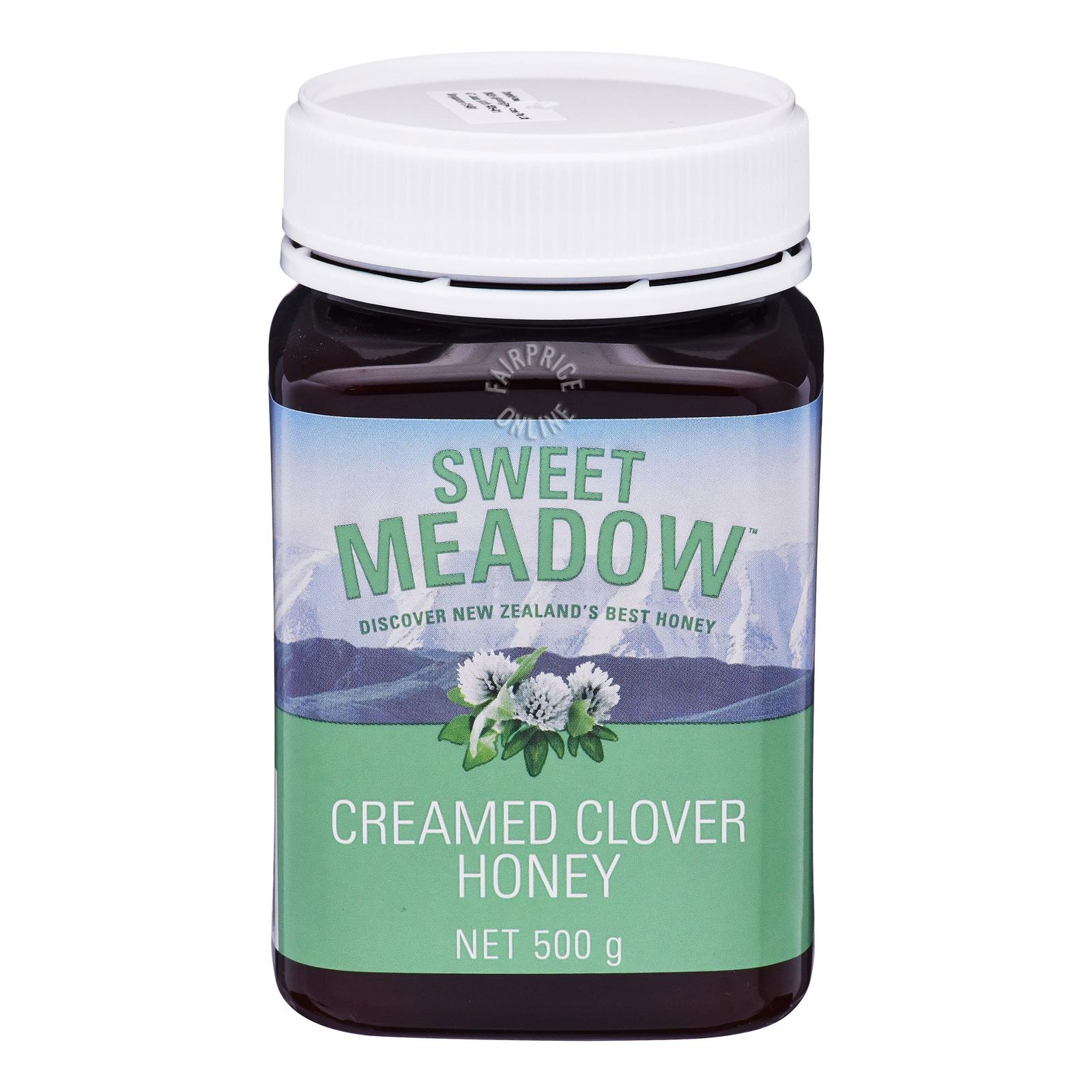 Sweet Meadow Creamed Clover Honey