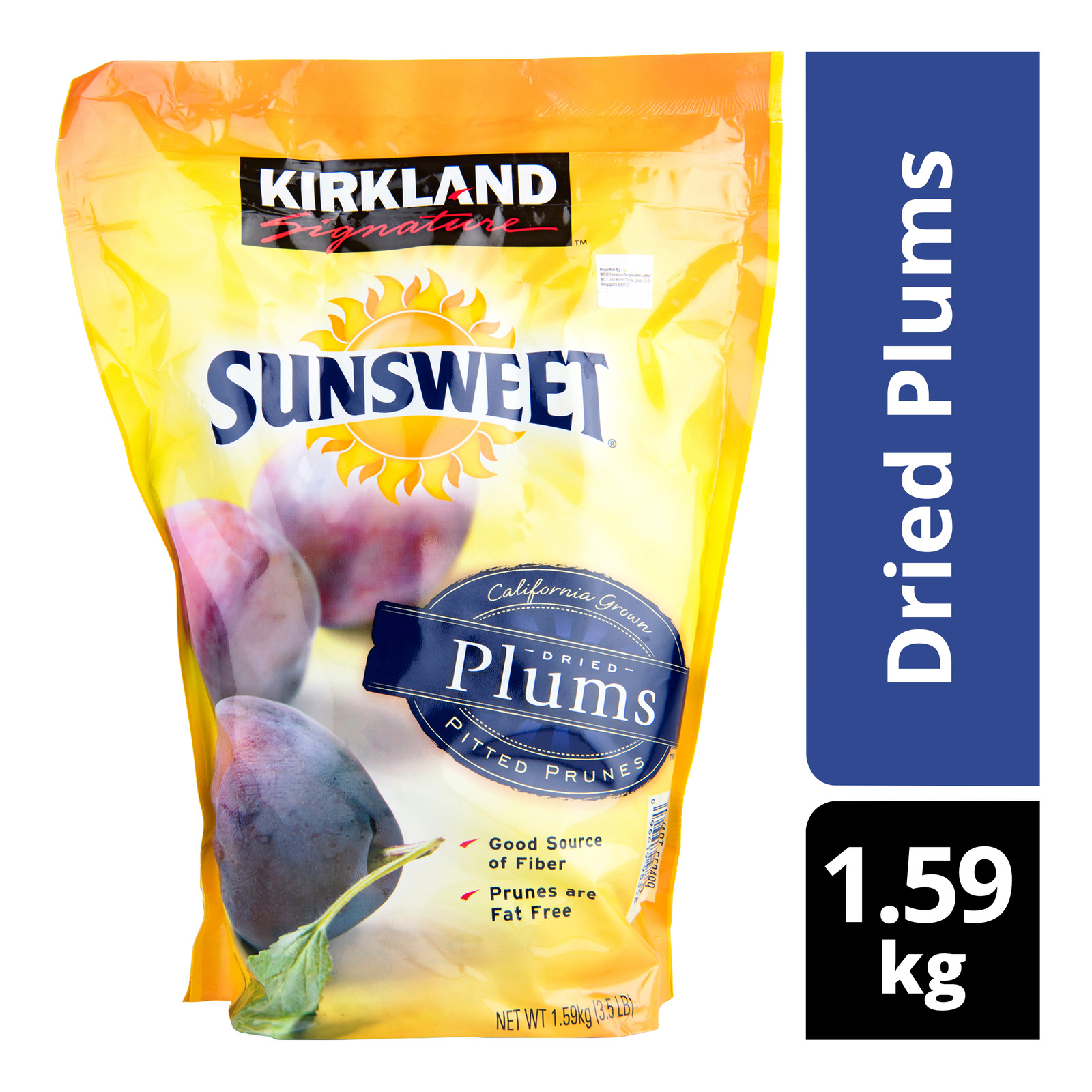 Kirkland Signature Sunsweet Dried Plums