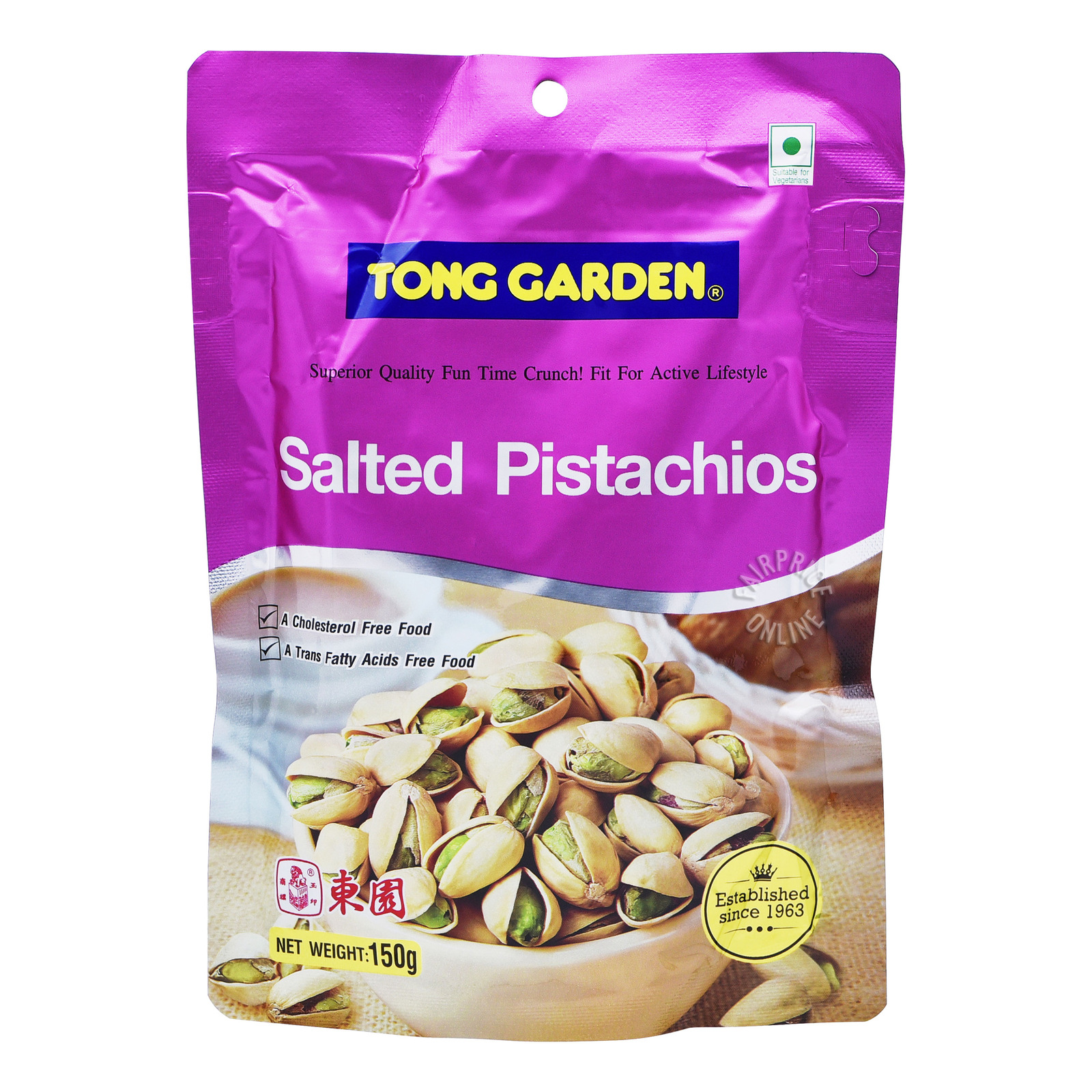 Tong Garden Salted Nuts - Pistachios