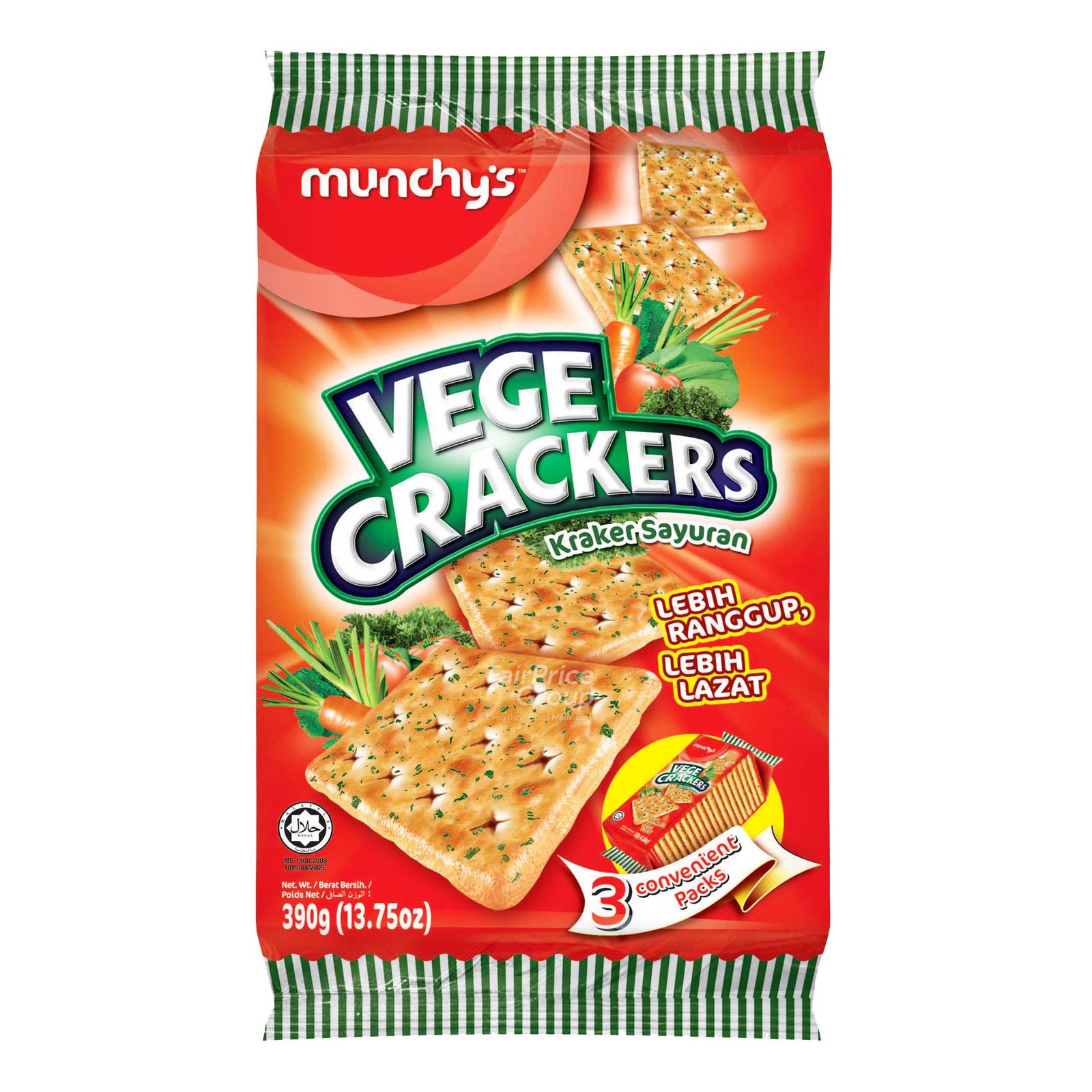 Munchy's Crackers - Vegetables