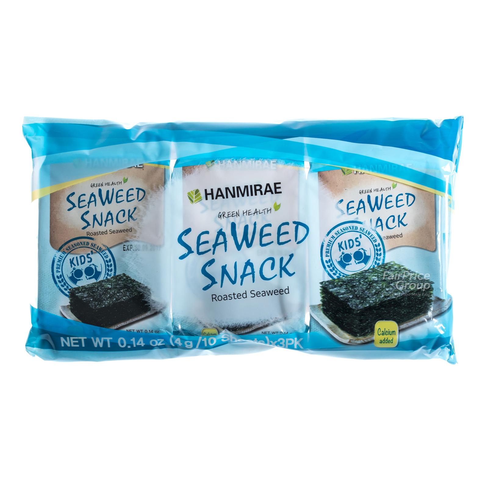 Hanmirae Seaweed Snack - Roasted