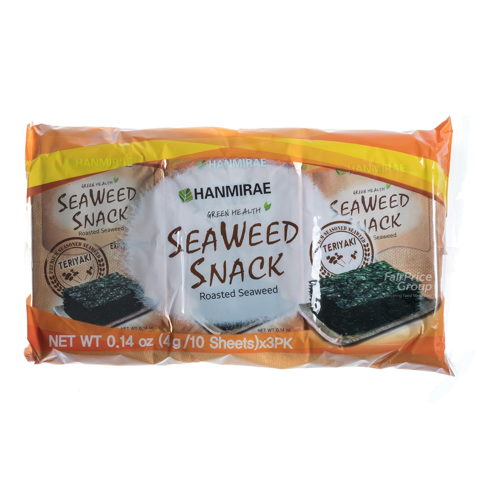Hanmirae Seaweed Snack - Teriyaki