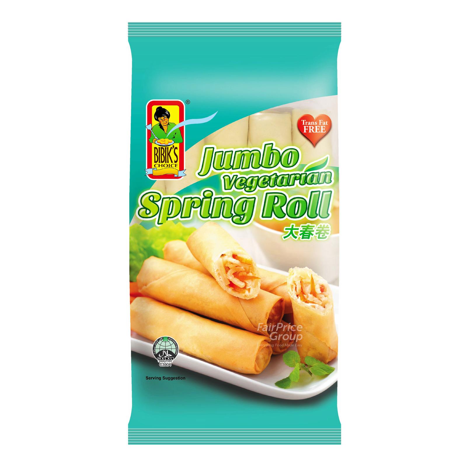 Bibik's Choice Spring Roll - Jumbo