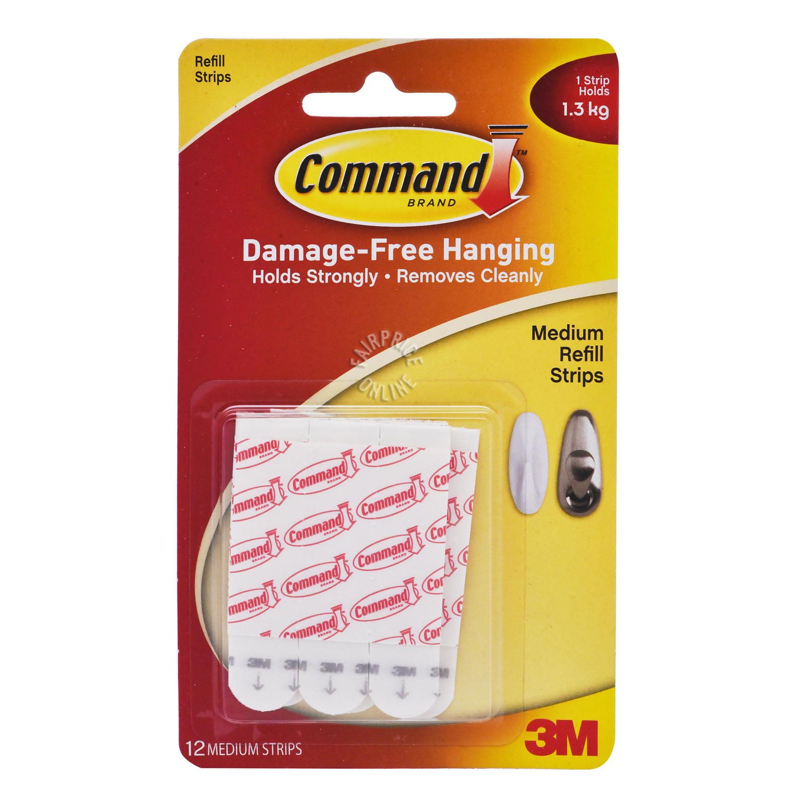 3M Command Refill Strips - Medium