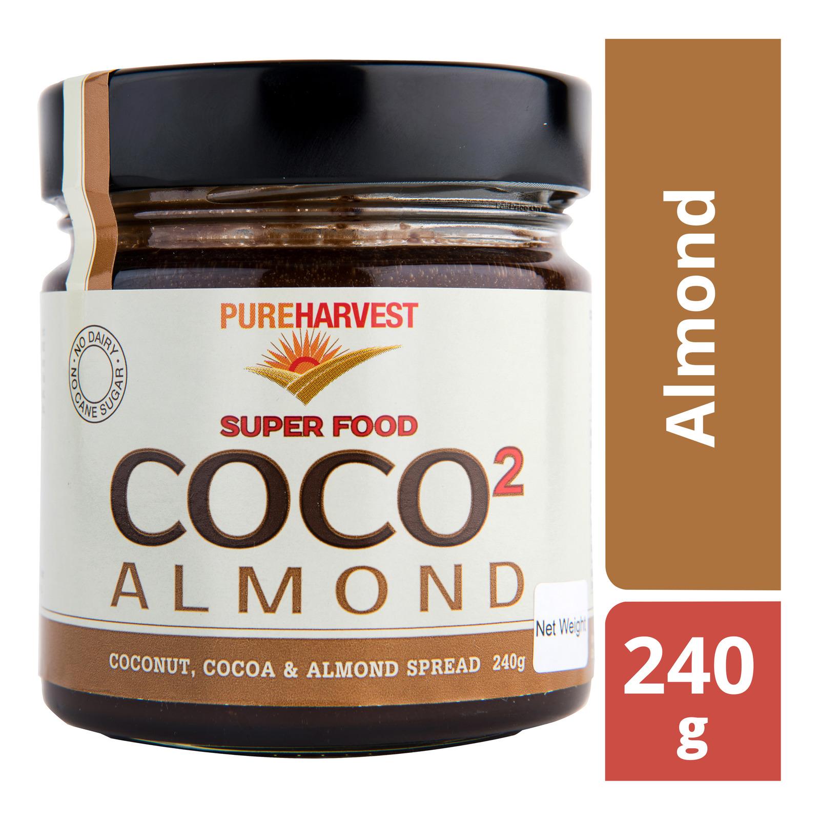 Pureharvest Super Food Coco2 Spread - Almond