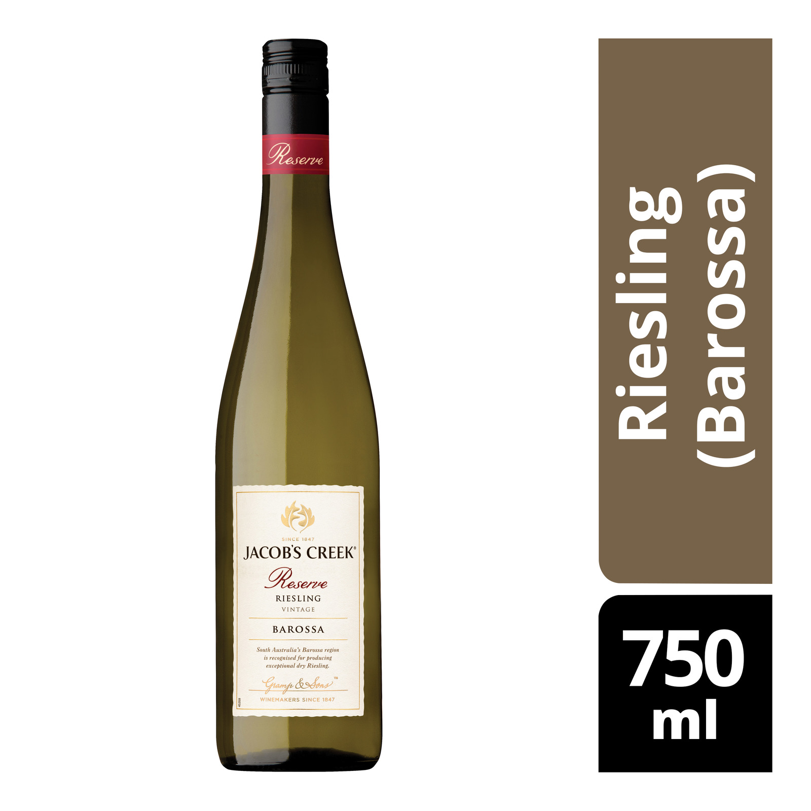 Jacob's Creek Reserve White Wine - Riesling (Barossa)