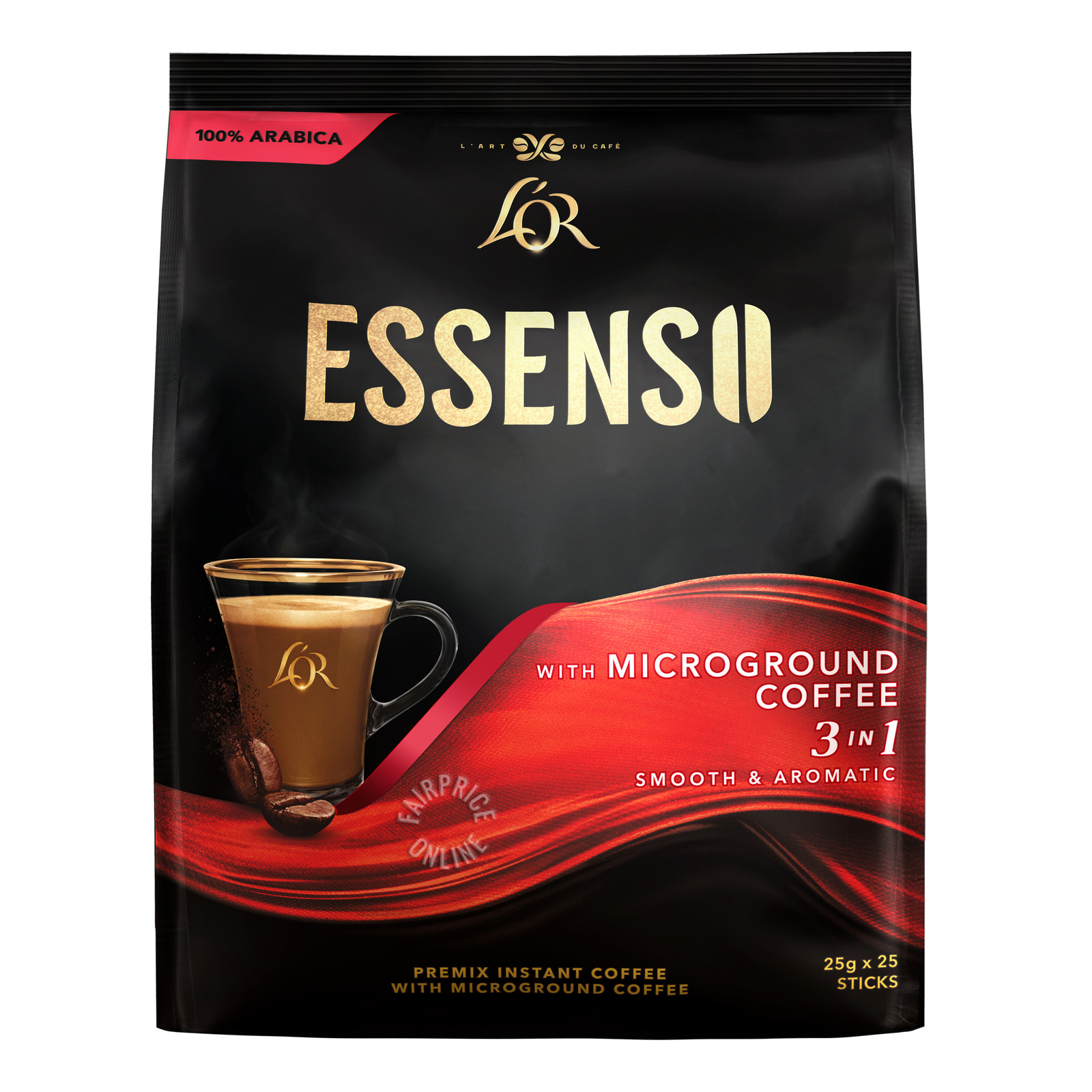Super 3 in 1 Instant Microground Coffee - Essenso
