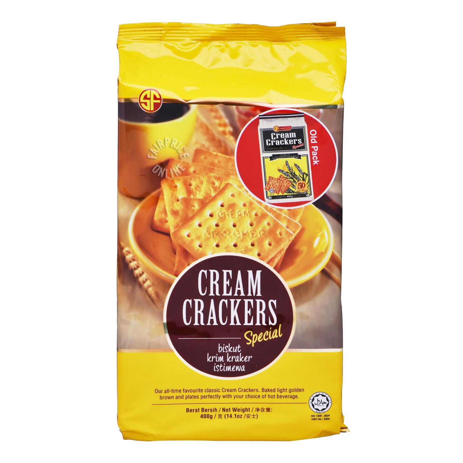 Shoon Fatt Cream Crackers - Special