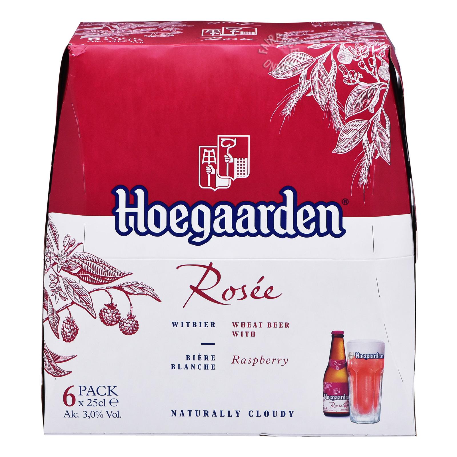 Hoegaarden Bottle Beer - Rosee