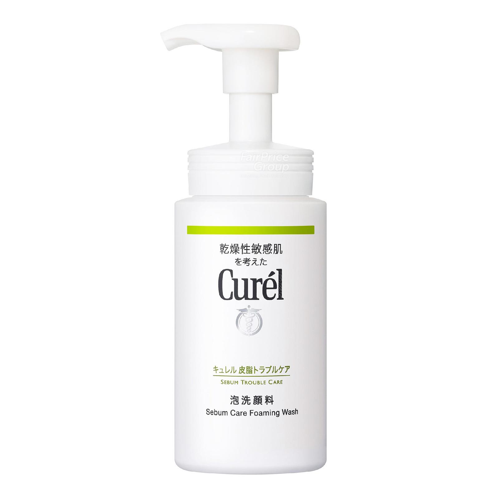 Curel Sebum Care Foaming Wash