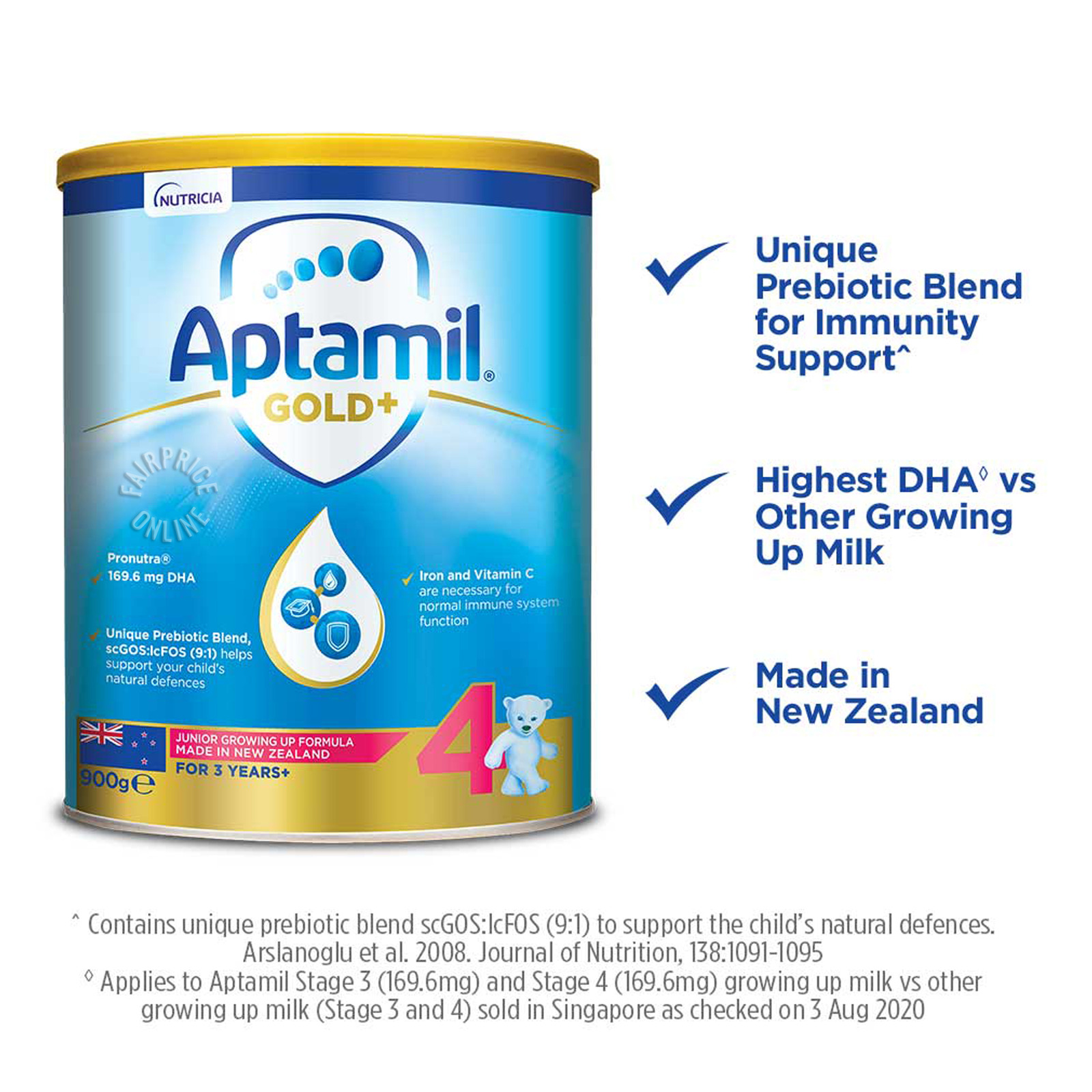 Aptamil Gold+ Junior Growing Up Milk Formula - Stage 4