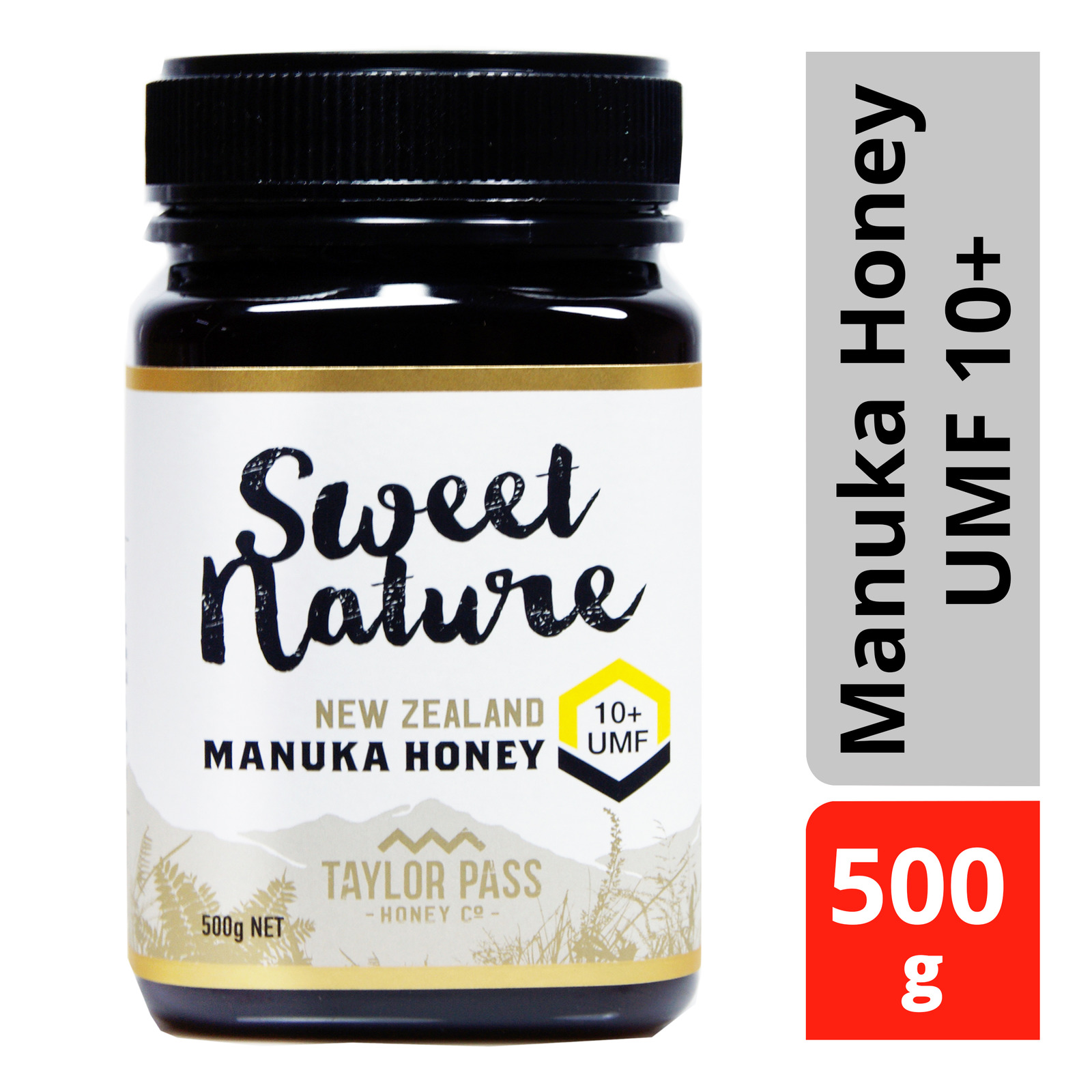 Sweet Nature UMF 10+ Manuka Honey - By Nature's Nutrition