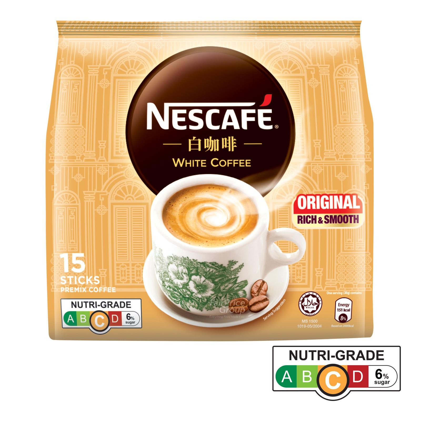Nescafe Instant Ipoh White Coffee - Original