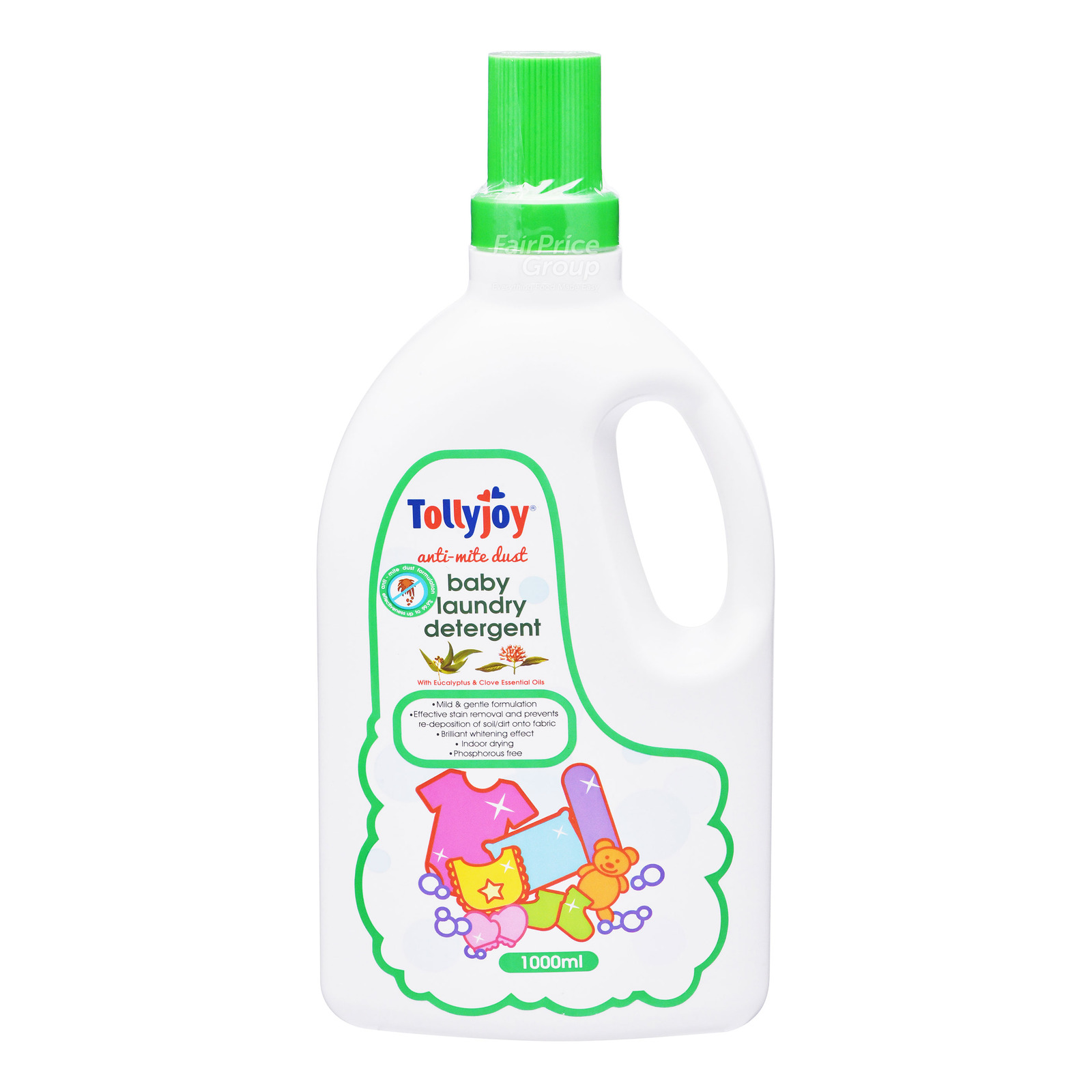 Tollyjoy Baby Laundry Detergent - Anti-Mite Dust