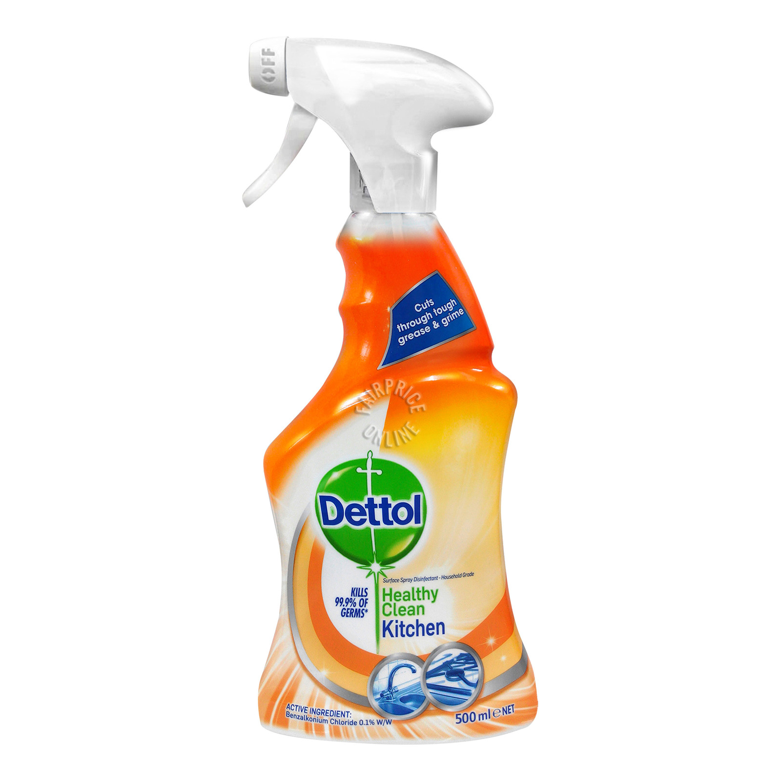 Dettol Anti-Bacterial Trigger Spray - Kitchen