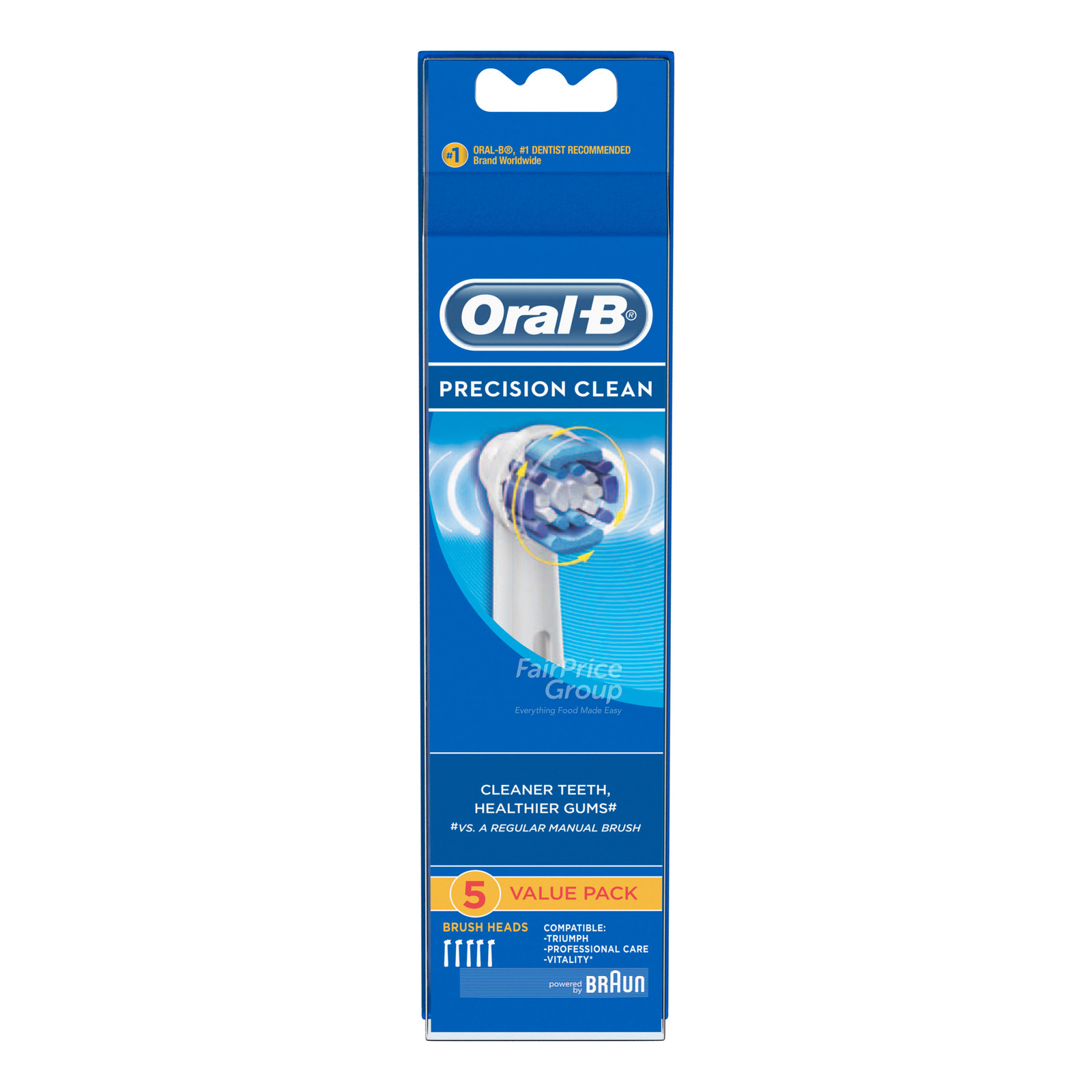 Oral-B Electric Toothbrush Head Refill - Precision Clean