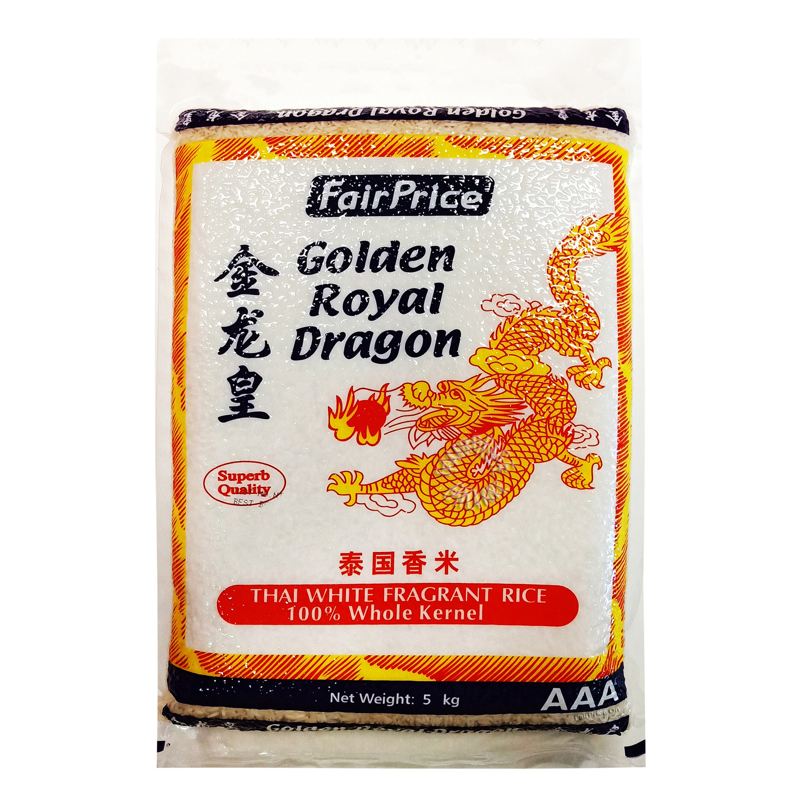 FairPrice AAA Golden Royal Dragon Thai White Fragrant Rice