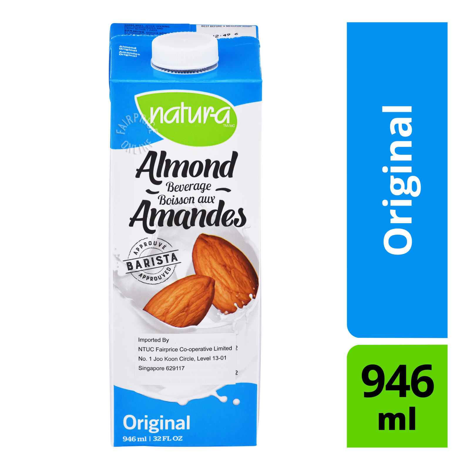 Natur-A Fortified Almond Beverage - Original