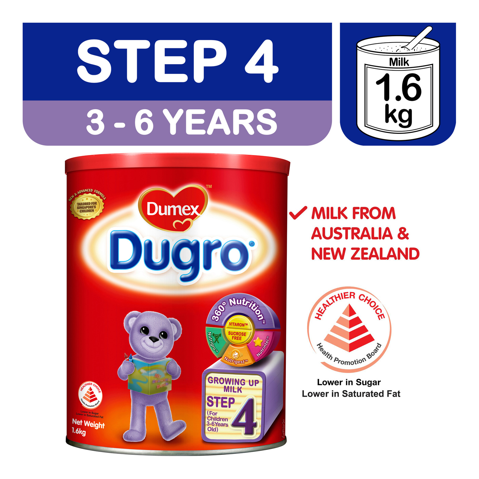 Dumex Dugro Growing Up Milk Formula - Step 4