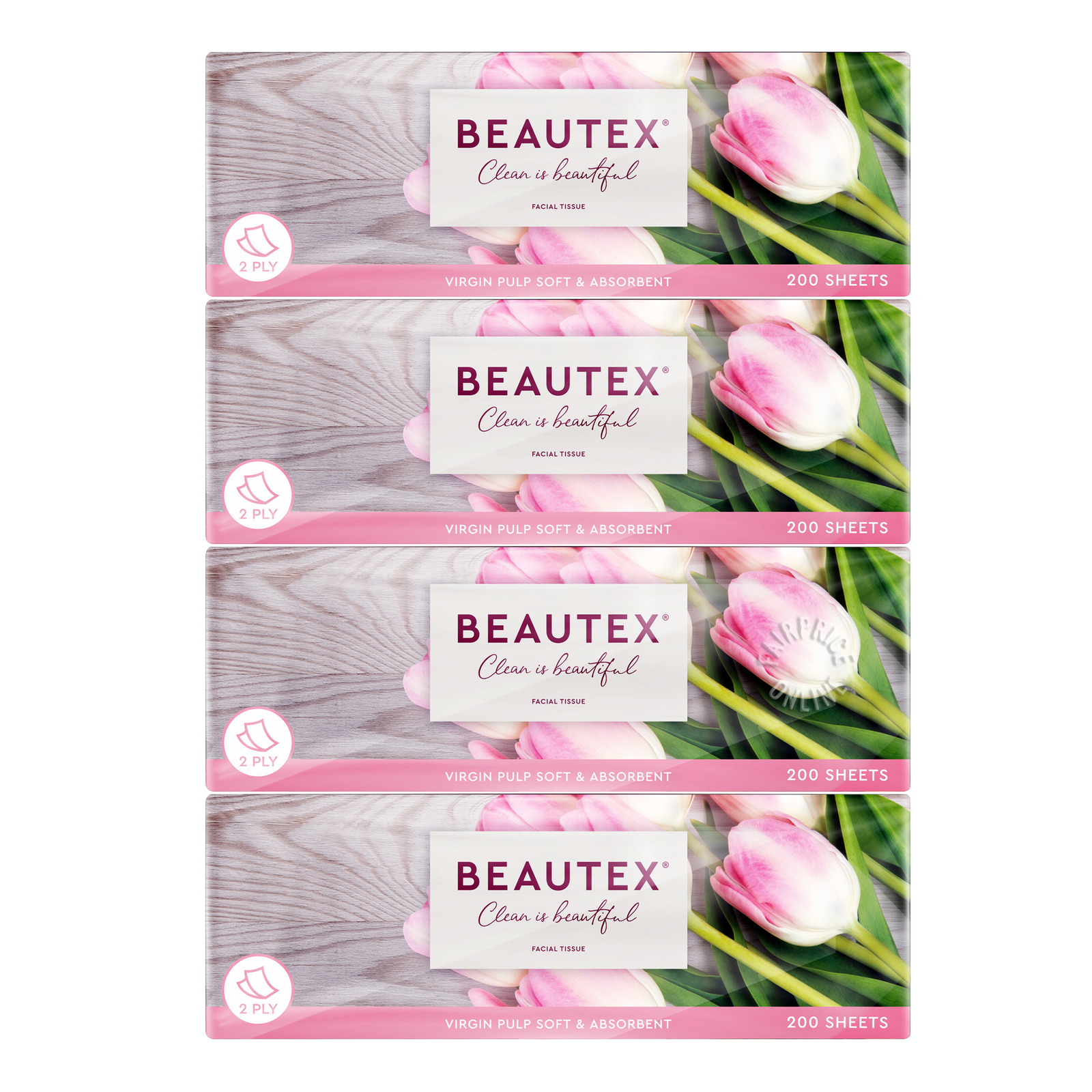 Beautex Facial Tissue - Soft (2ply)