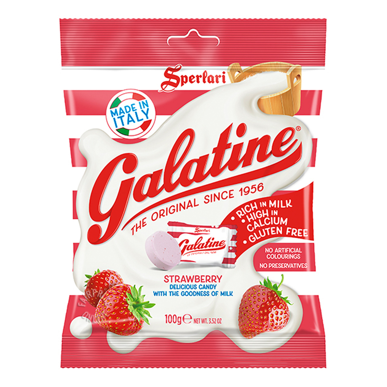Galatine Milk Candy - Strawberry