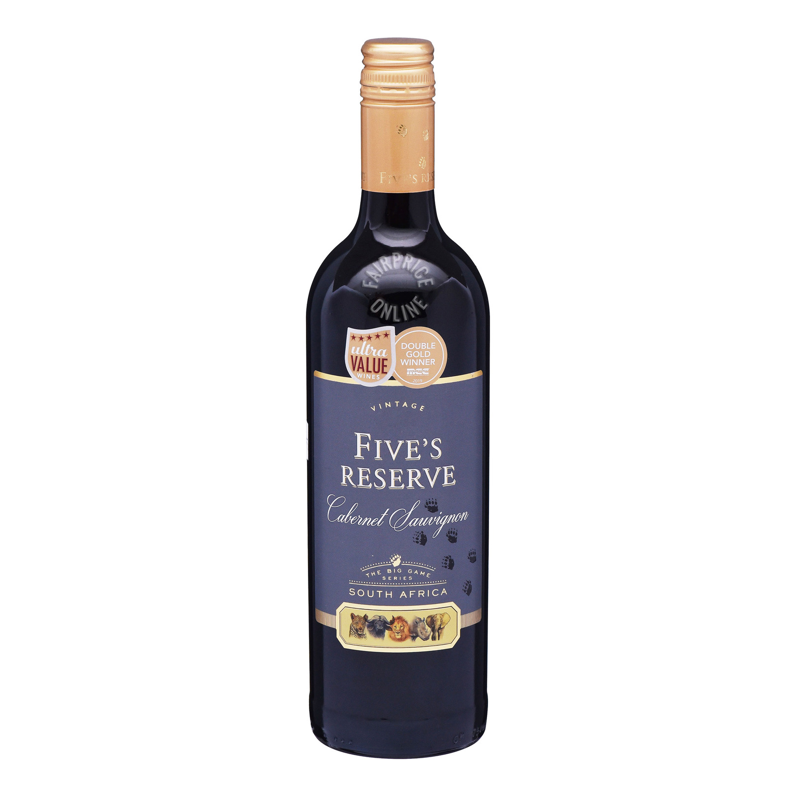 Van Loveren Five's Reserve Red Wine - Cabernet Sauvignon