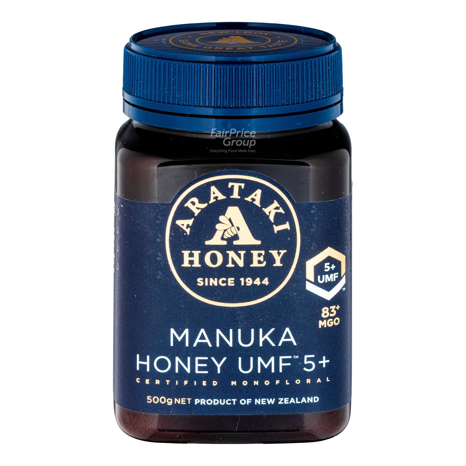 Arataki Honey - Manuka UMF5+