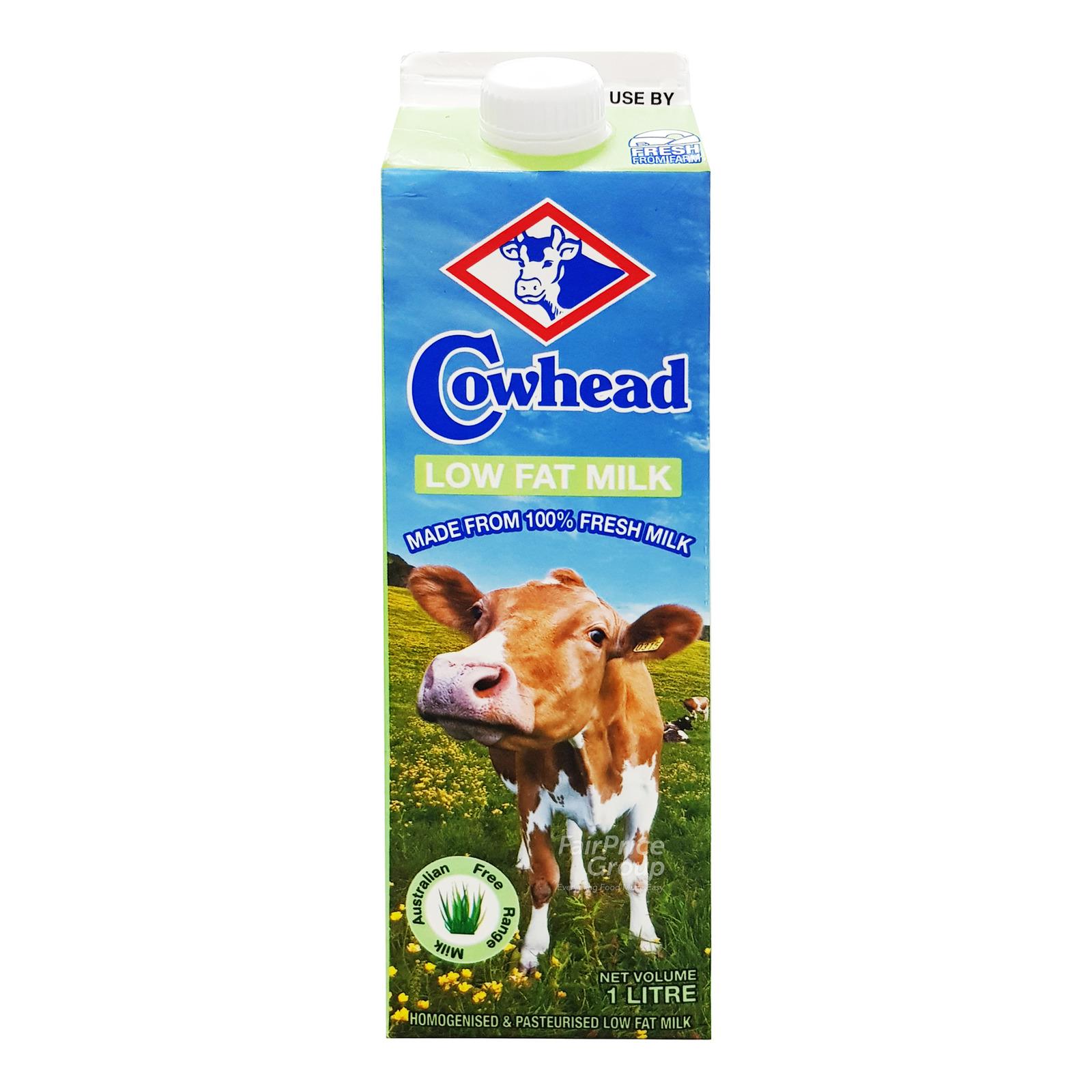 Cowhead 100% Fresh Milk - Low Fat