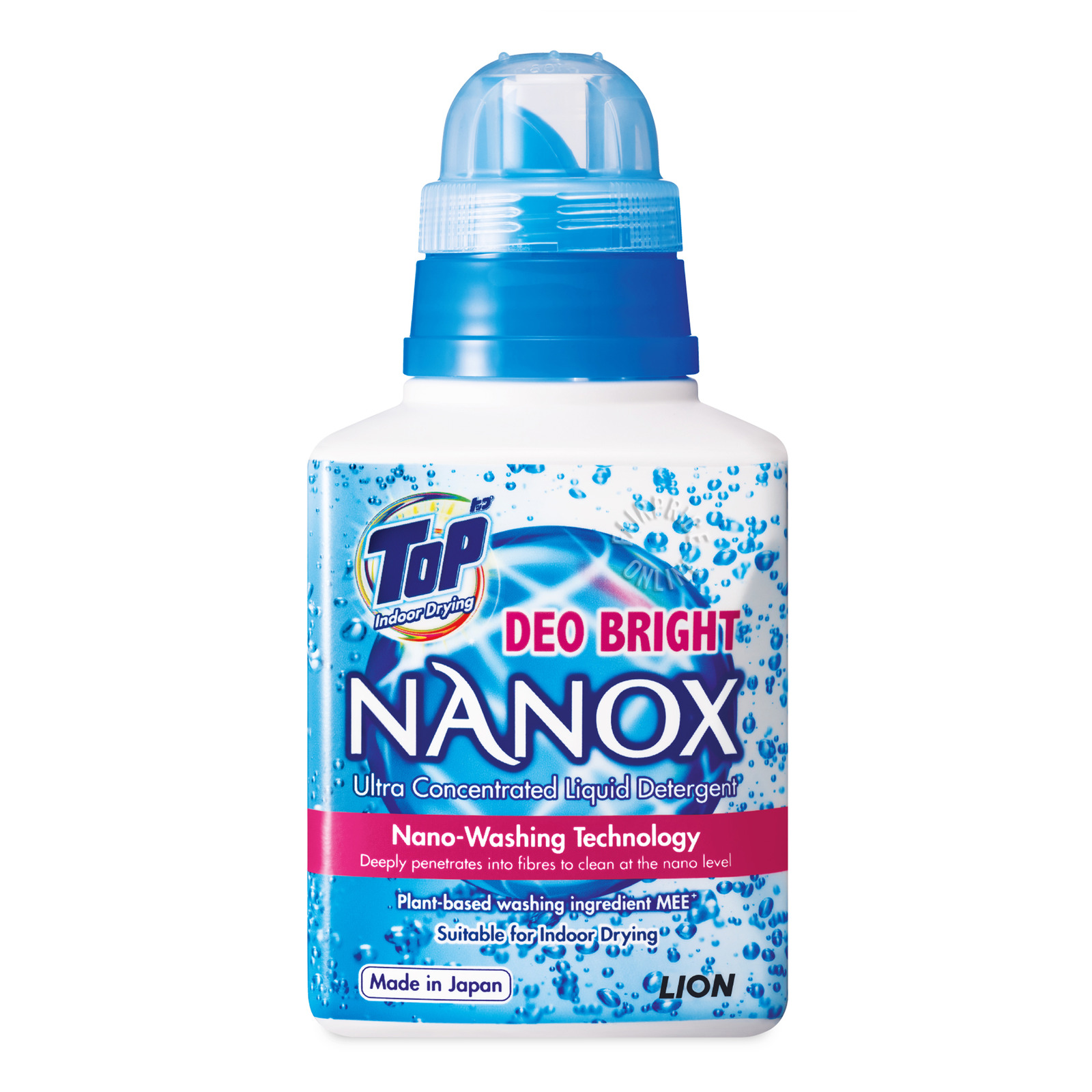 Top Nanox Ultra Concentrated Liquid Detergent - Deo Bright