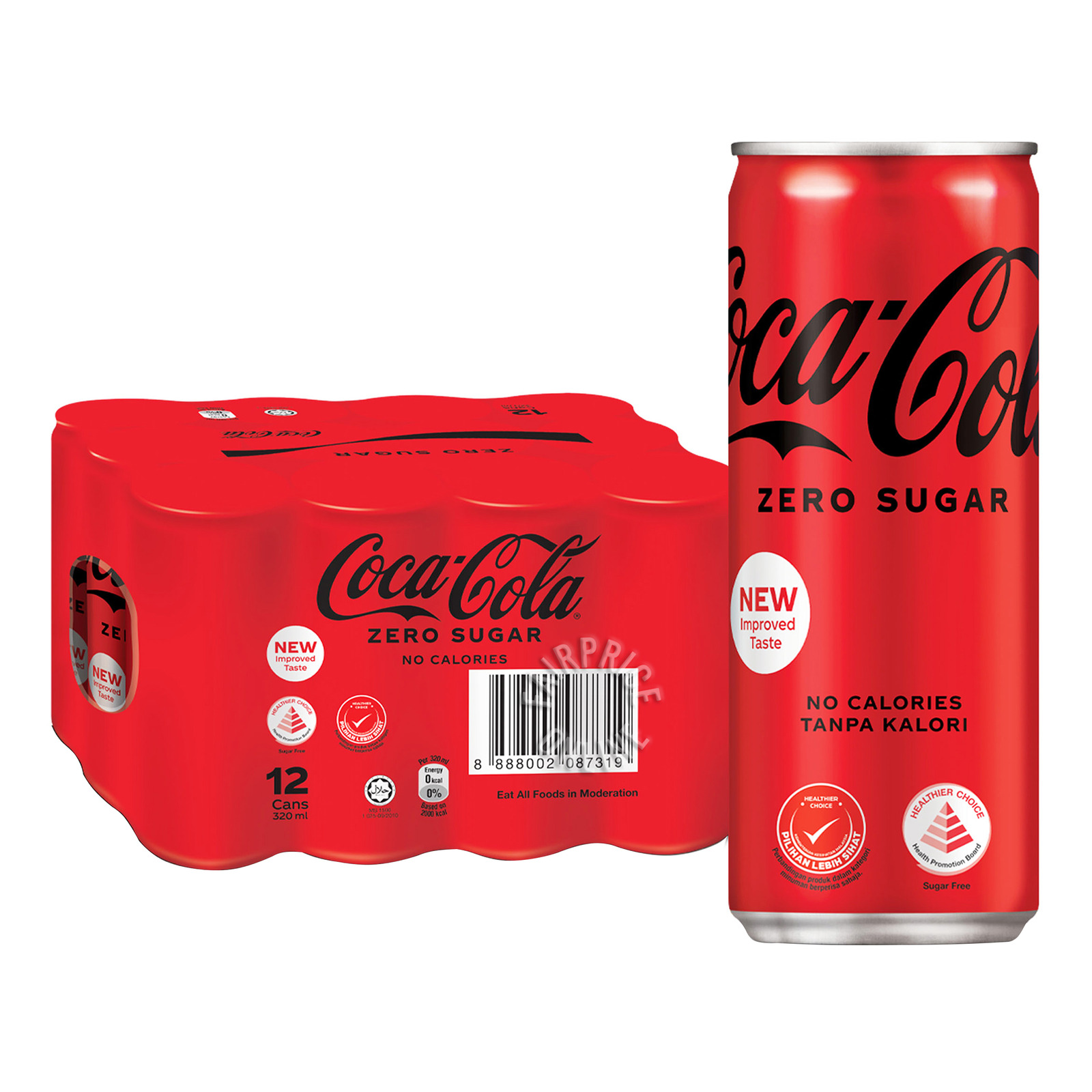 Coca-Cola Can Drink - No Sugar