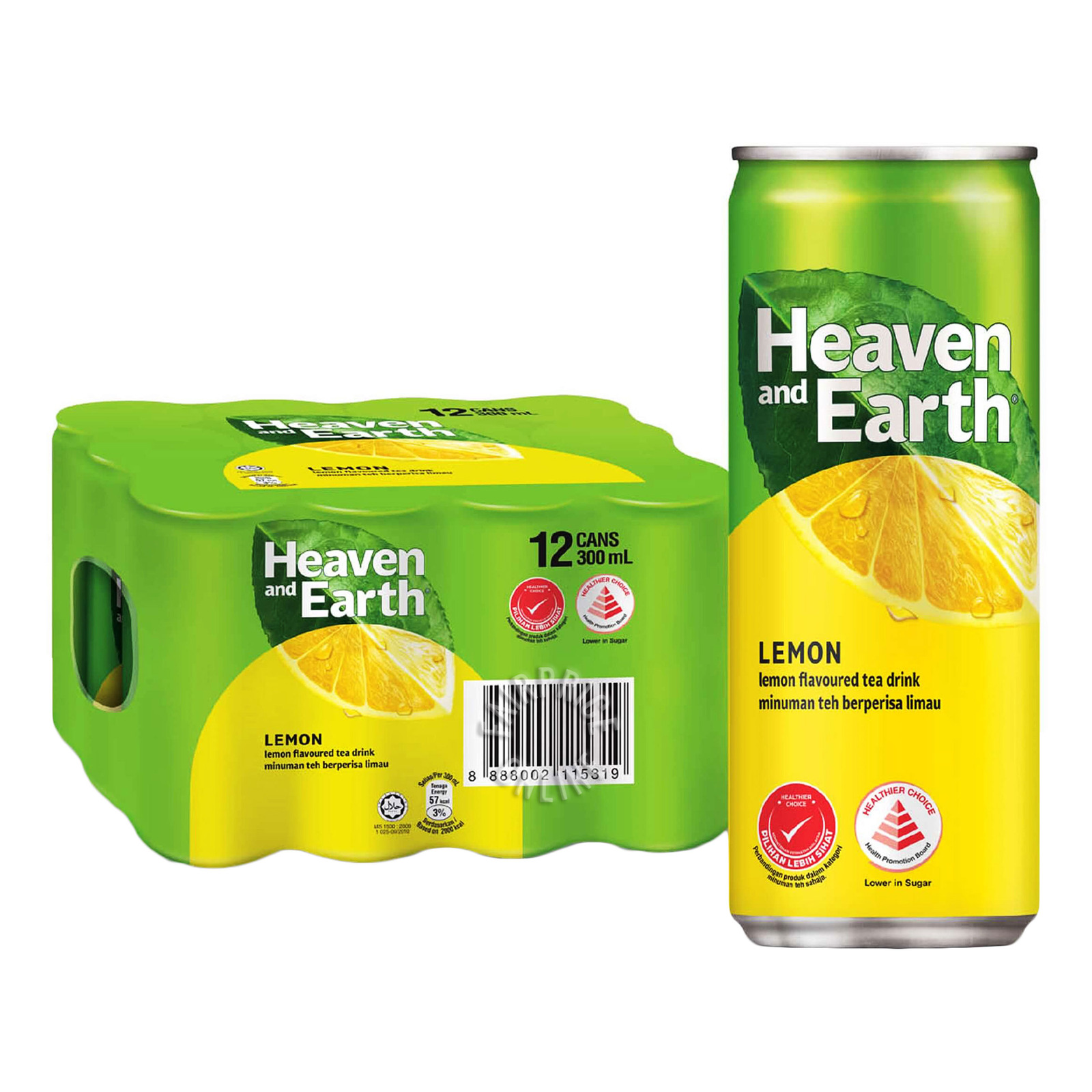 Heaven & Earth Can Drink - Ice Lemon Tea