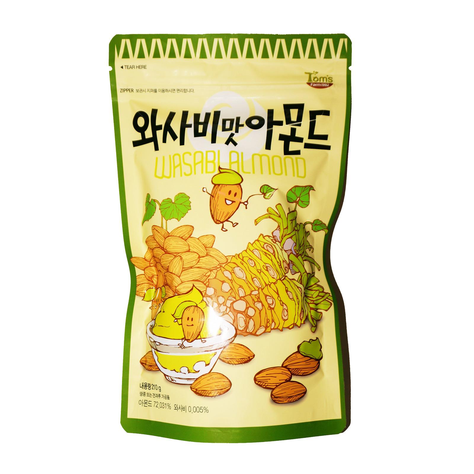 Tom's Farm Almond - Wasabi