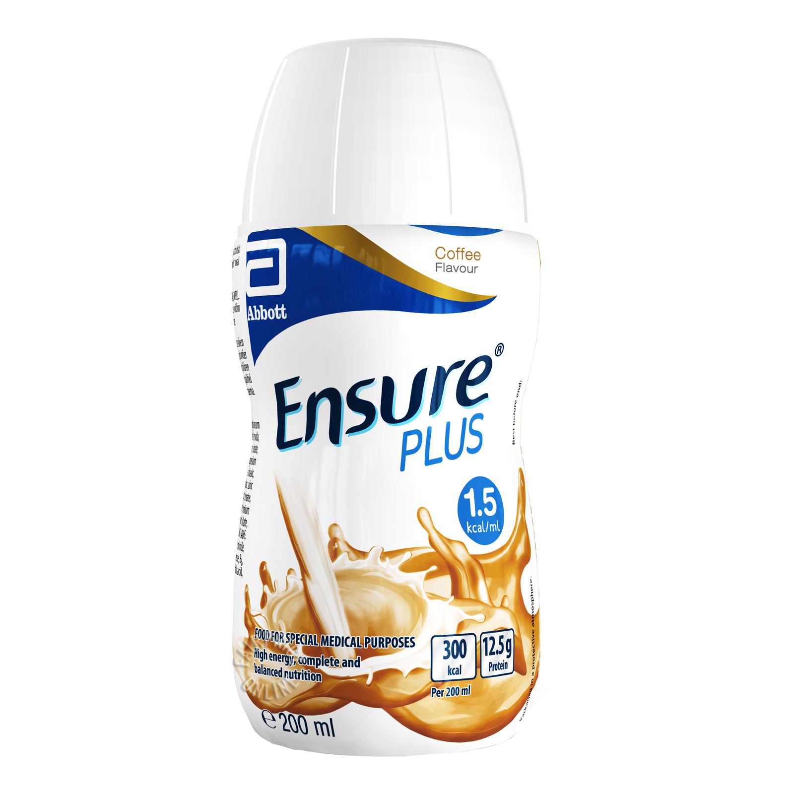 Abbott Ensure Plus Bottle Milk - Coffee