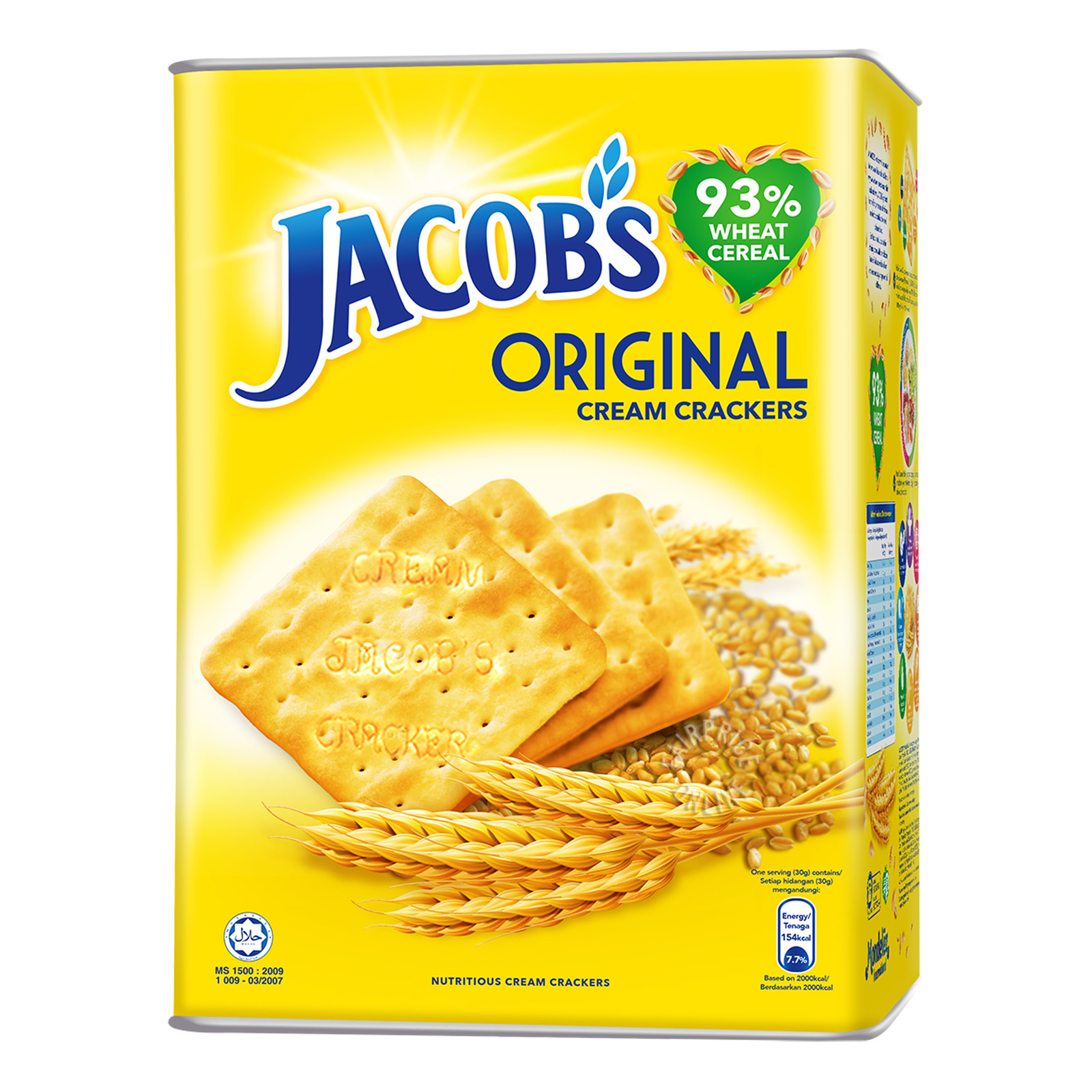 Jacob's Cream Crackers - Original
