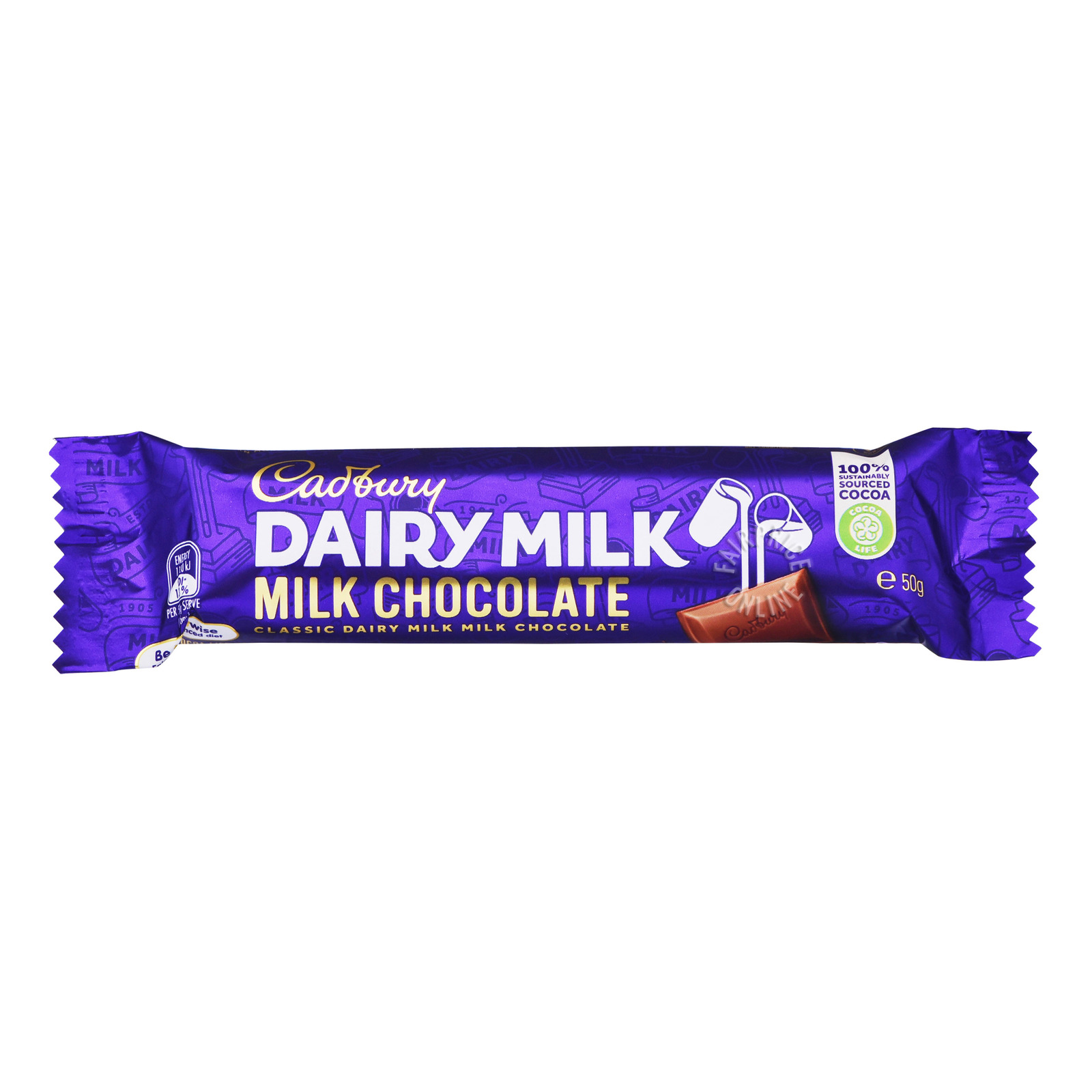 Cadbury Dairy Milk Chocolate Bar - Original