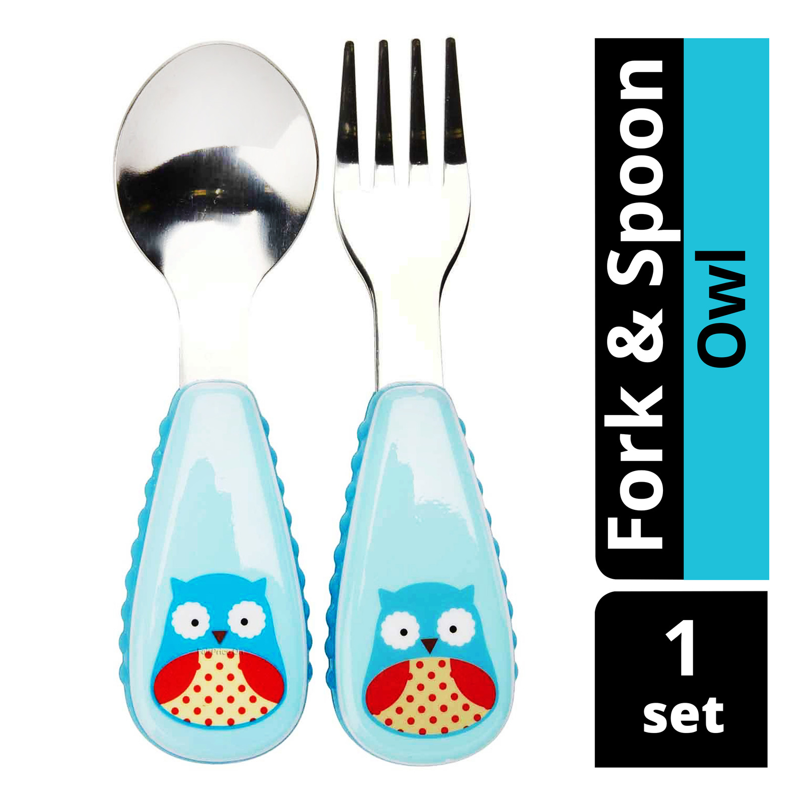 Skip Hop Zootensils Fork & Spoon - Owl