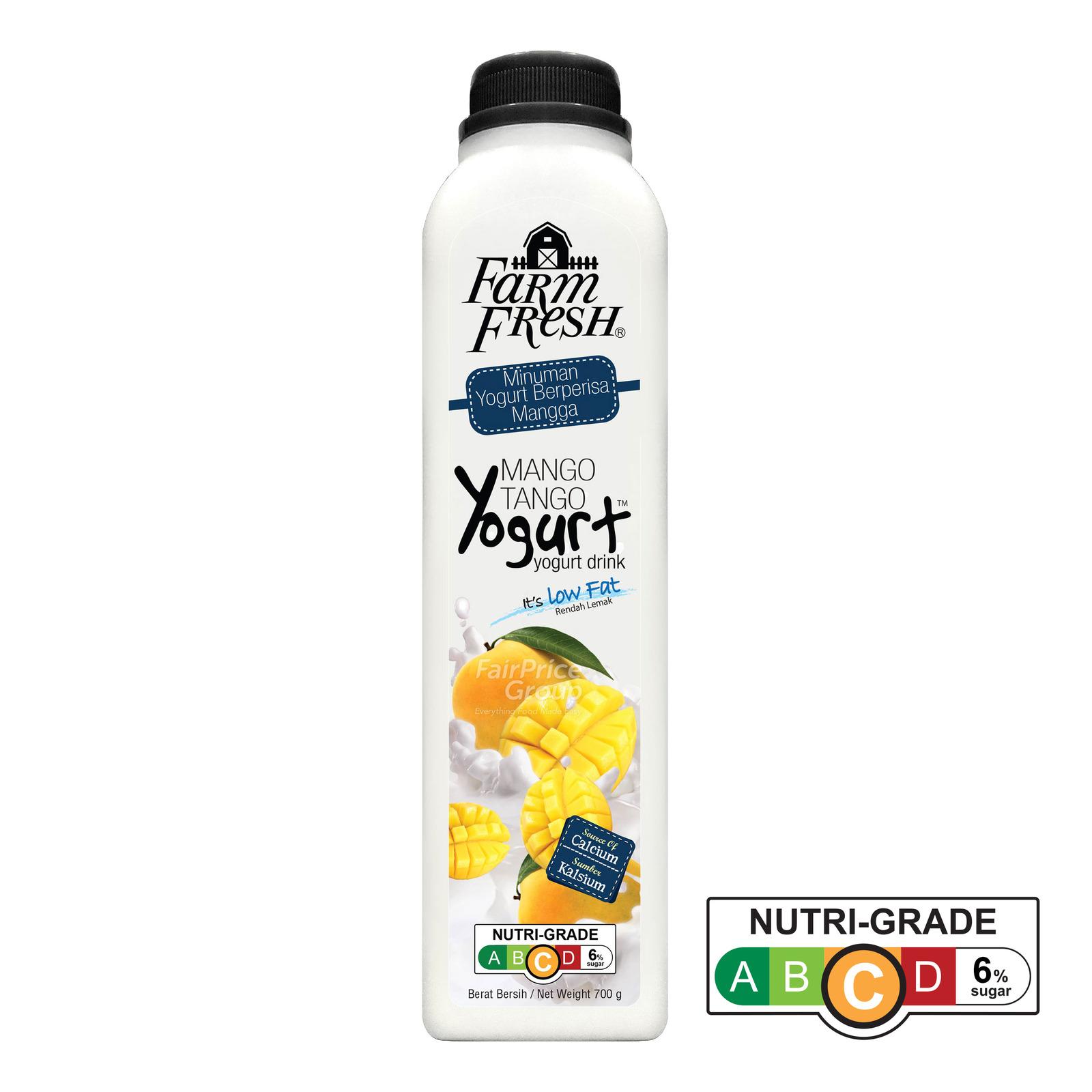 Farm Fresh Yogurt Bottle Drink - Mango Tango