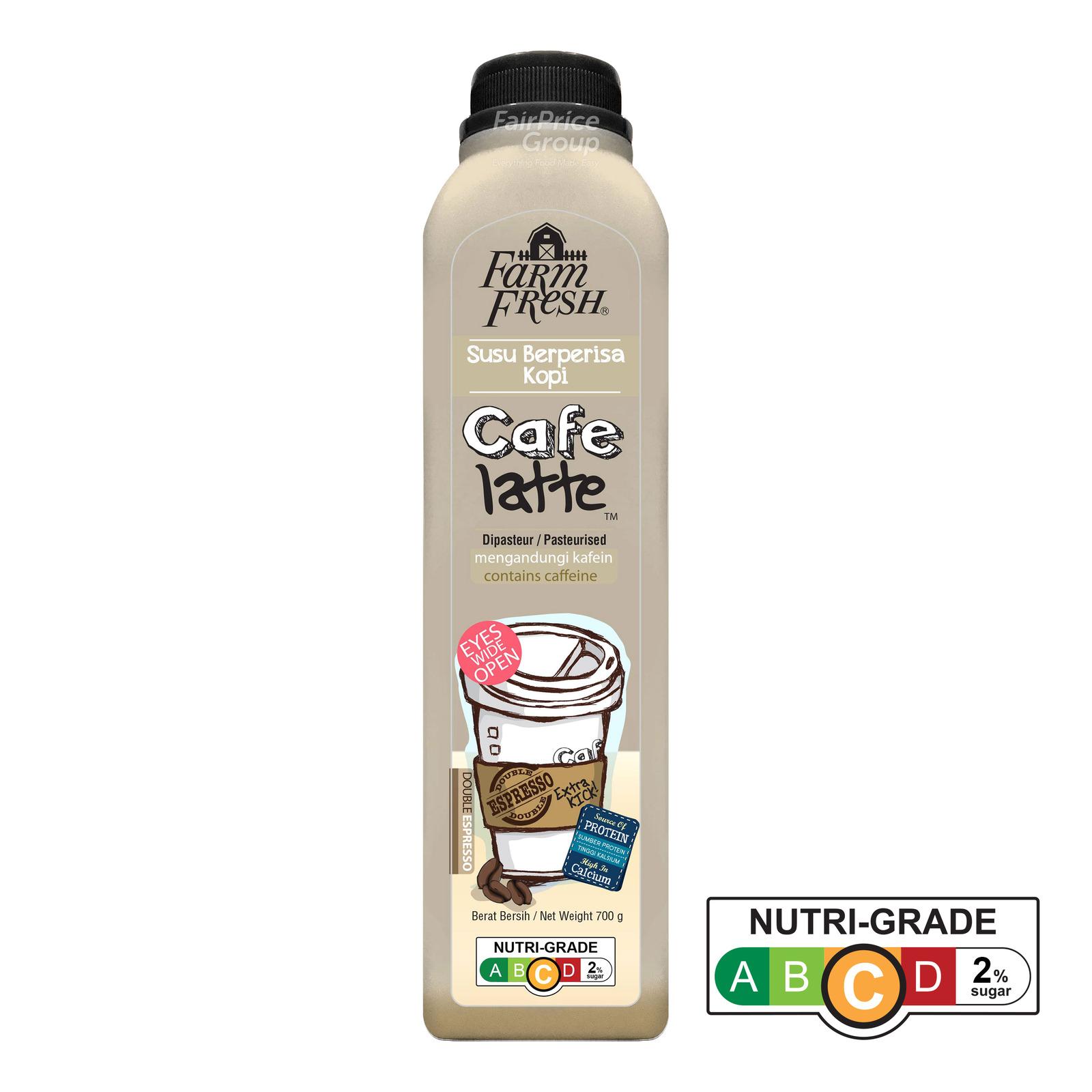 Farm Fresh Cafe Latte Bottle Drink