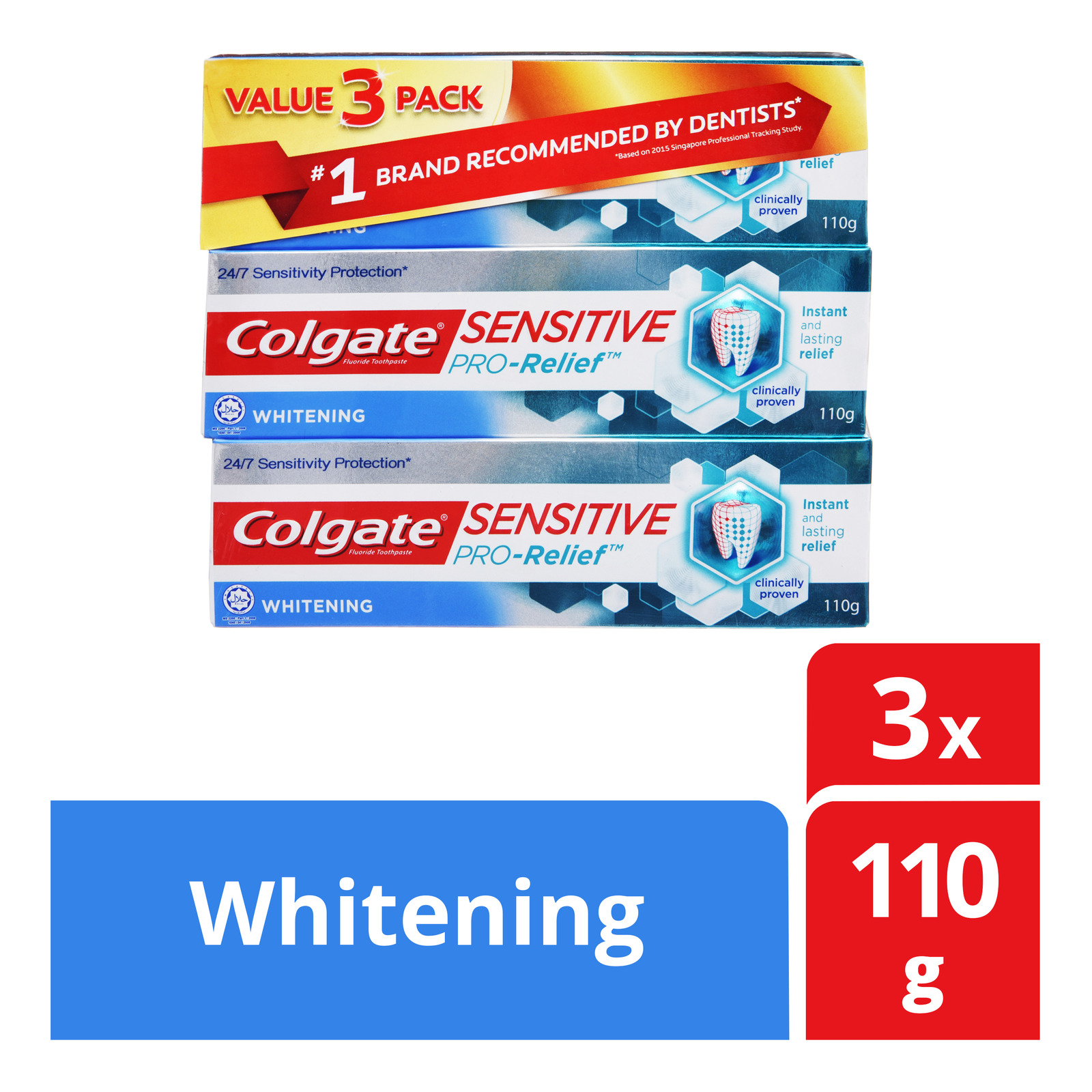 Colgate Sensitive Pro-Relief Toothpaste - Whitening