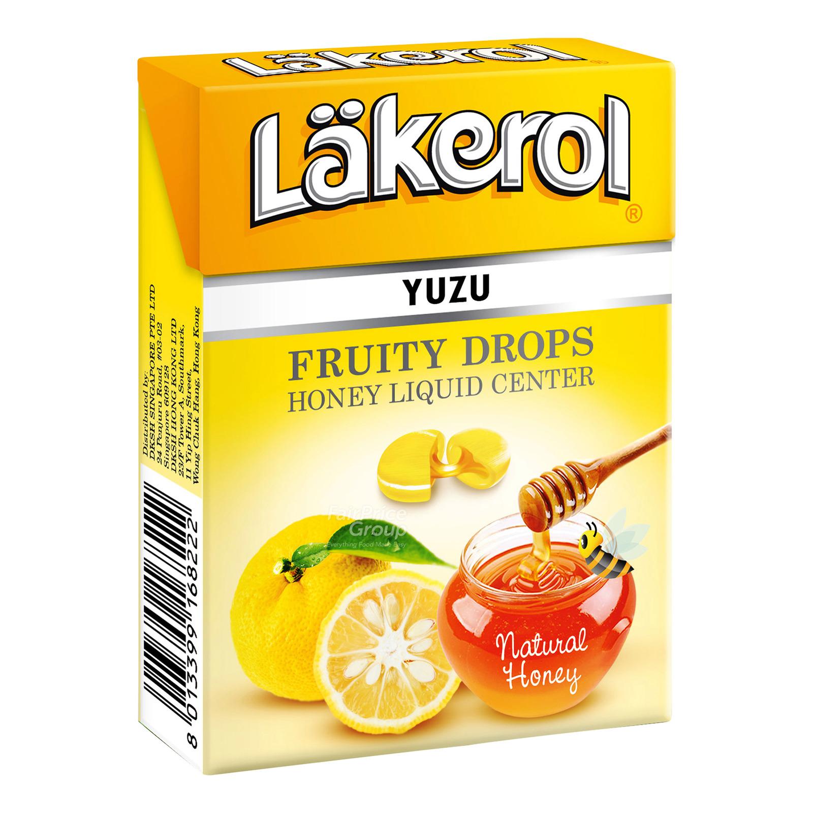 Lakerol Fruity Drops - Yuzu with Honey