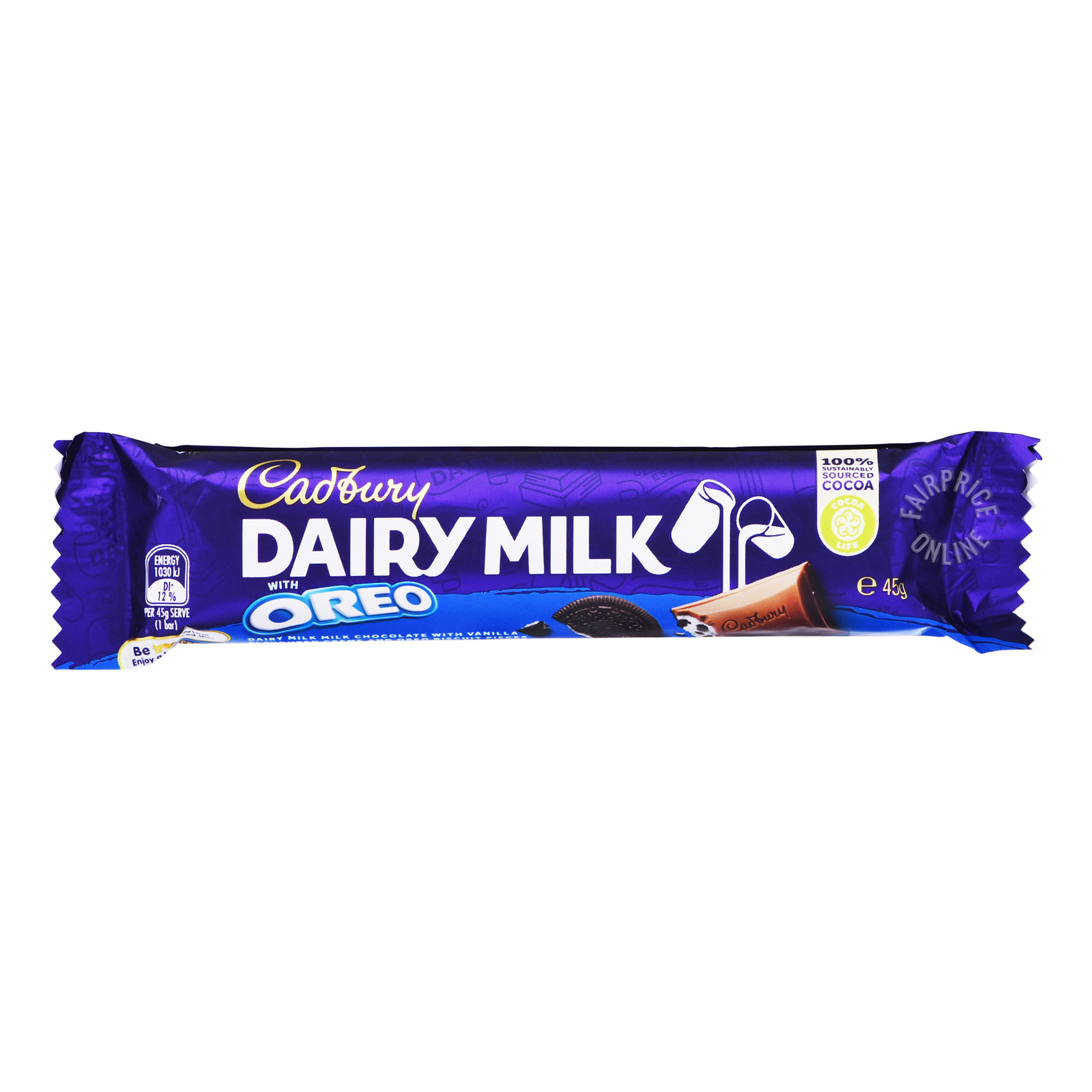 Cadbury Dairy Milk Chocolate Bar - Oreo
