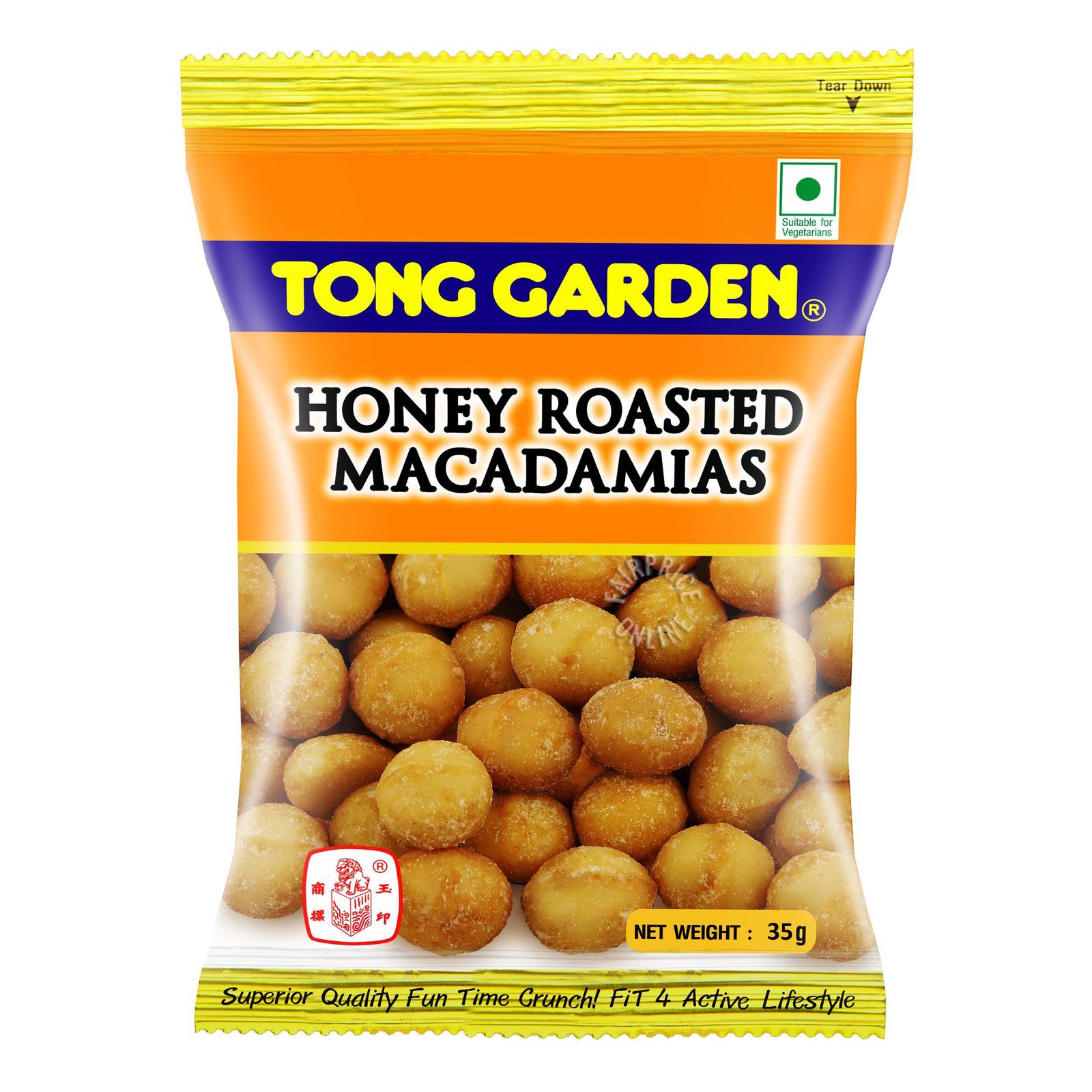 Tong Garden Honey Roasted Macadamias