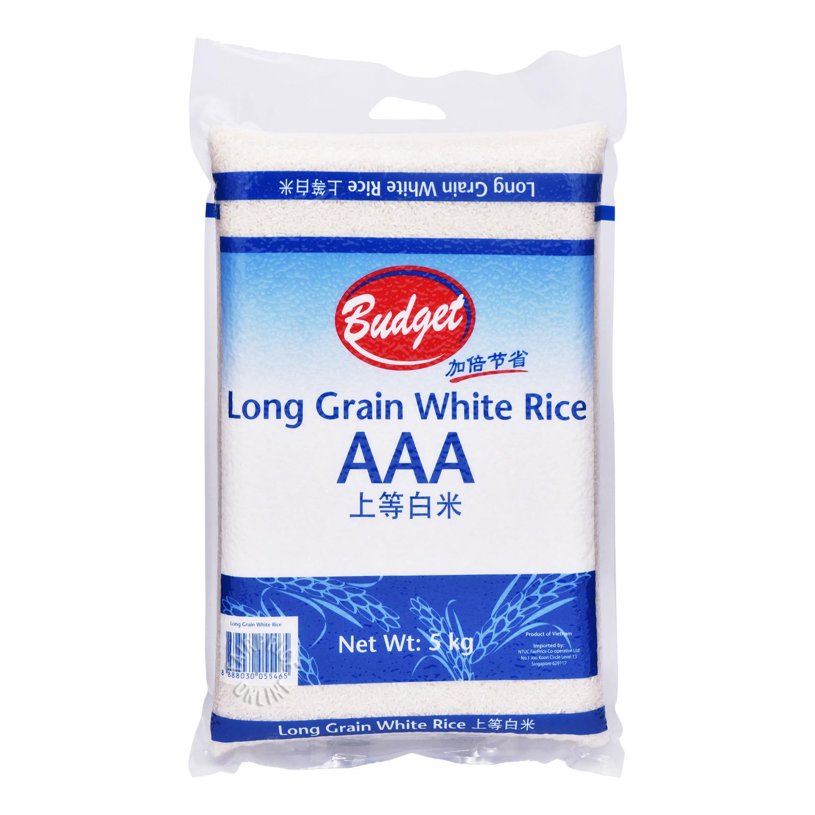 Budget White Rice - Long Grain