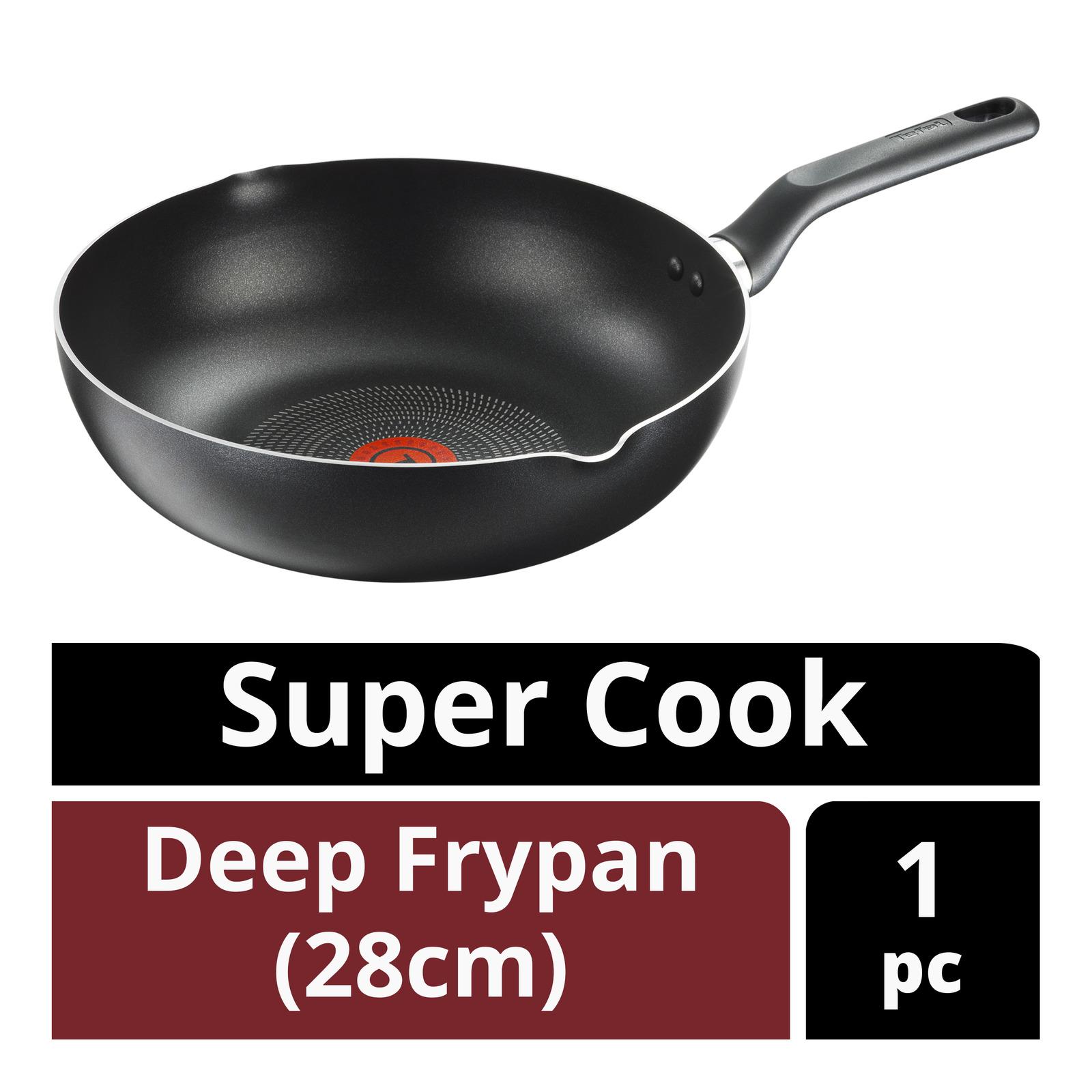 Tefal Super Cook Deep Frypan - 28cm