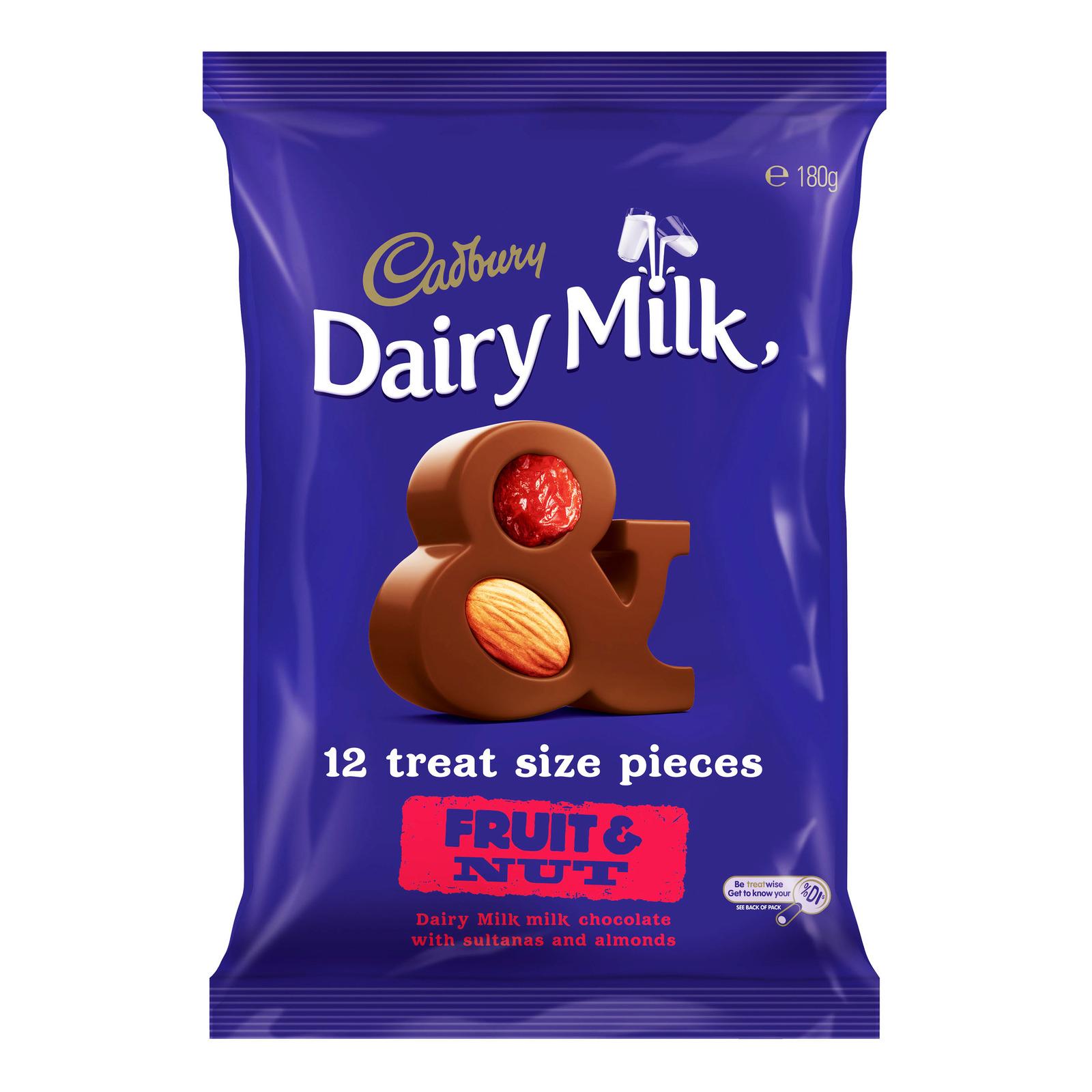Cadbury Dairy Milk Chocolate Sharepack -Fruit&Nut