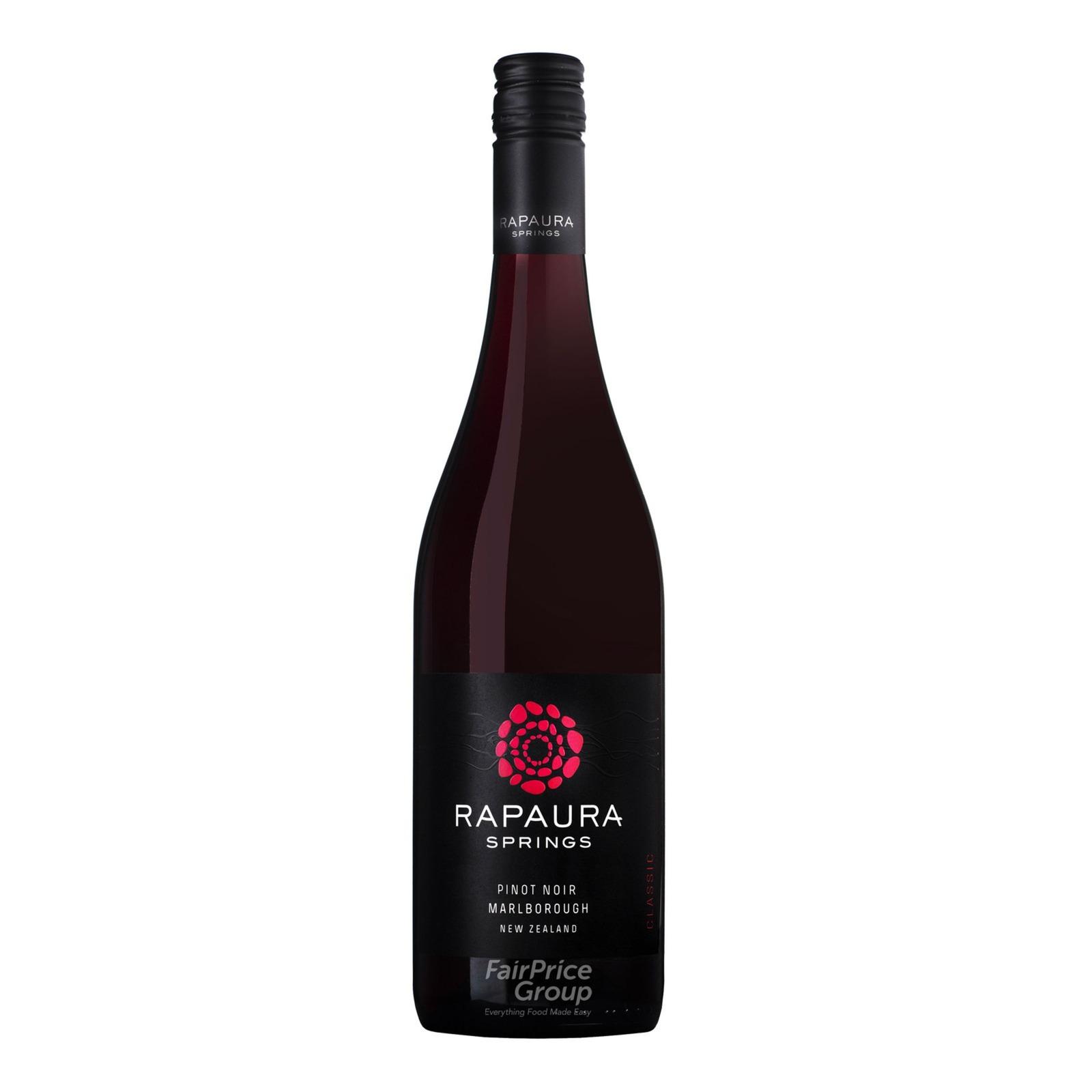 Rapuara Springs Red Wine - Malborough Pinot Noir